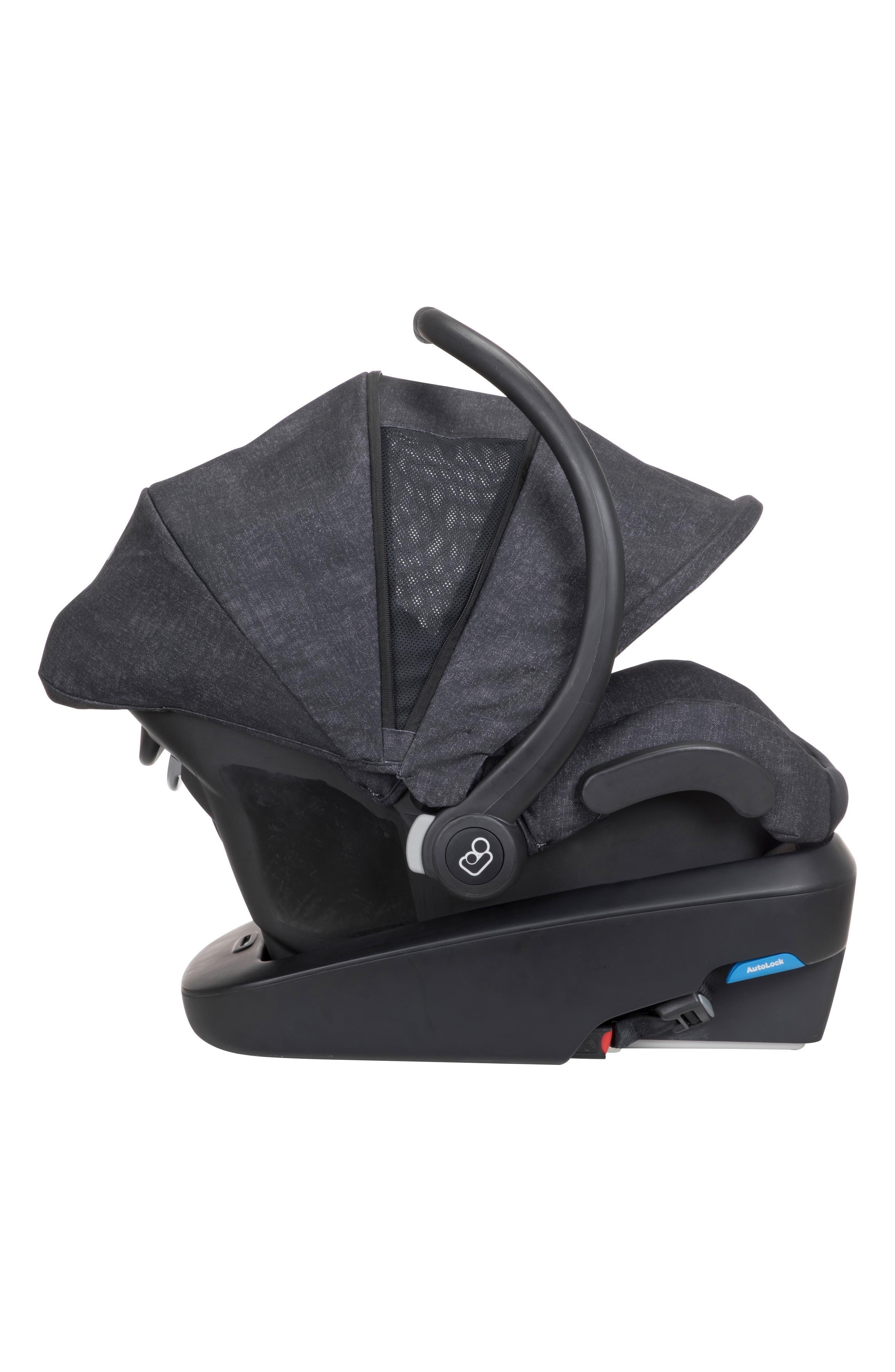 Mico Max Plus Infant Car Seat,                             Alternate thumbnail 11, color,                             NOMAD BLACK