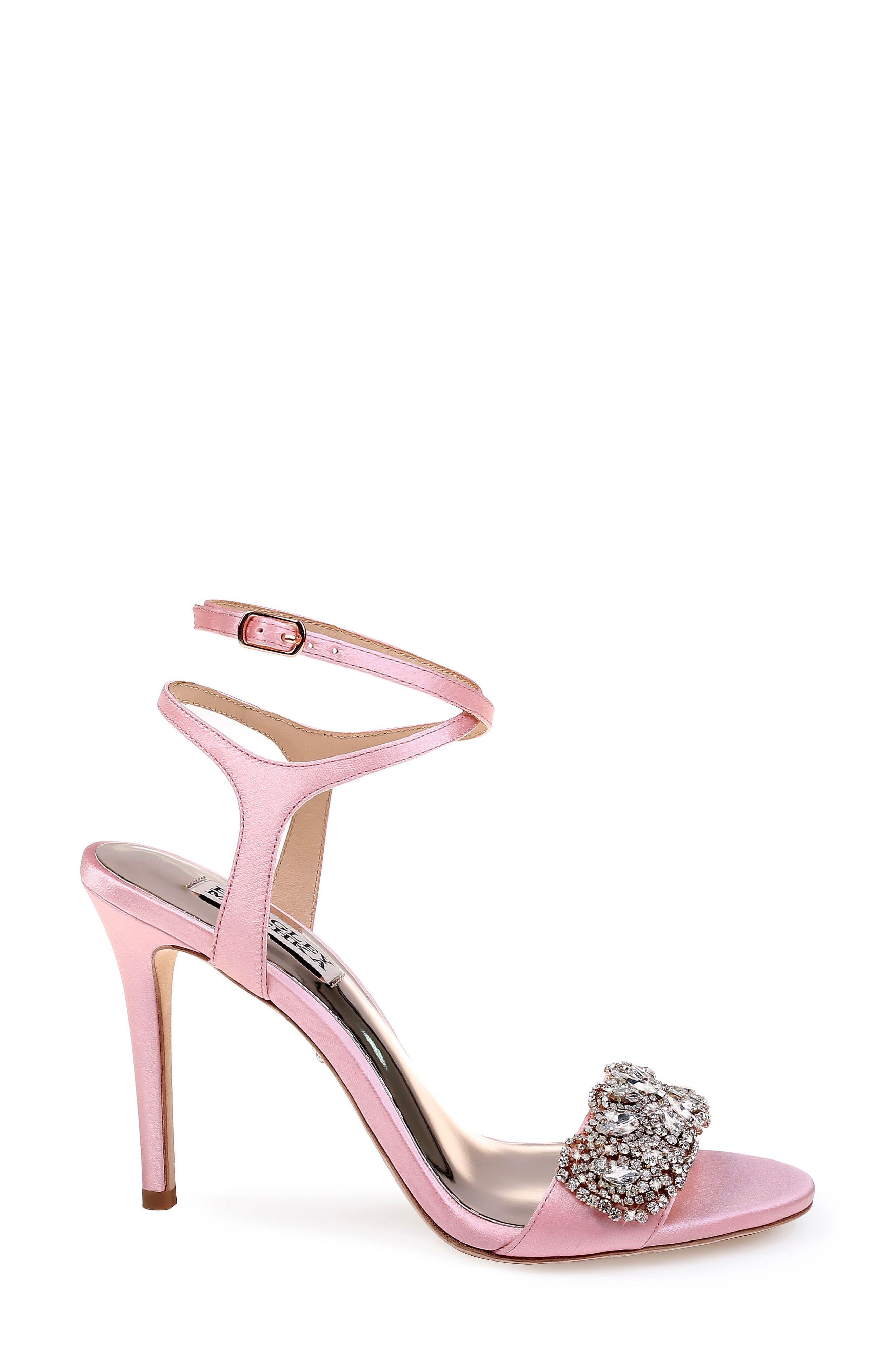 Hailey Embellished Ankle Strap Sandal,                             Alternate thumbnail 17, color,