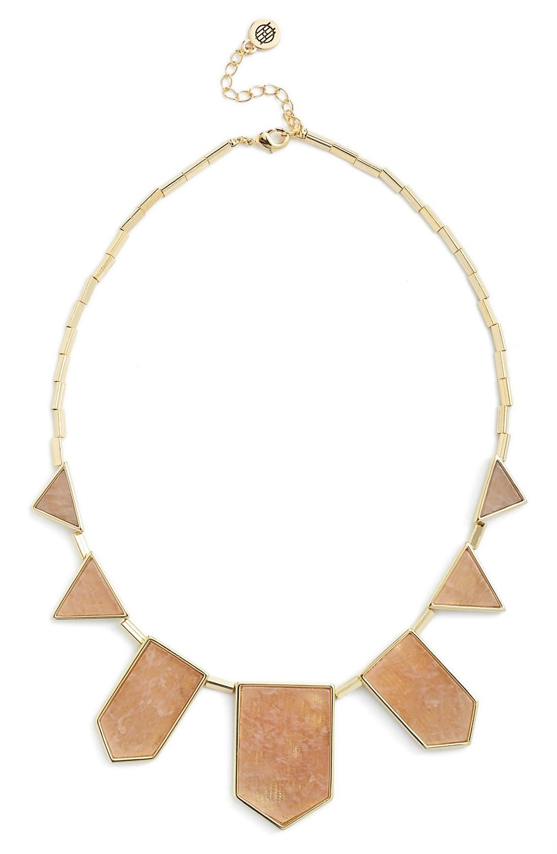 Leather Station Necklace,                             Main thumbnail 13, color,