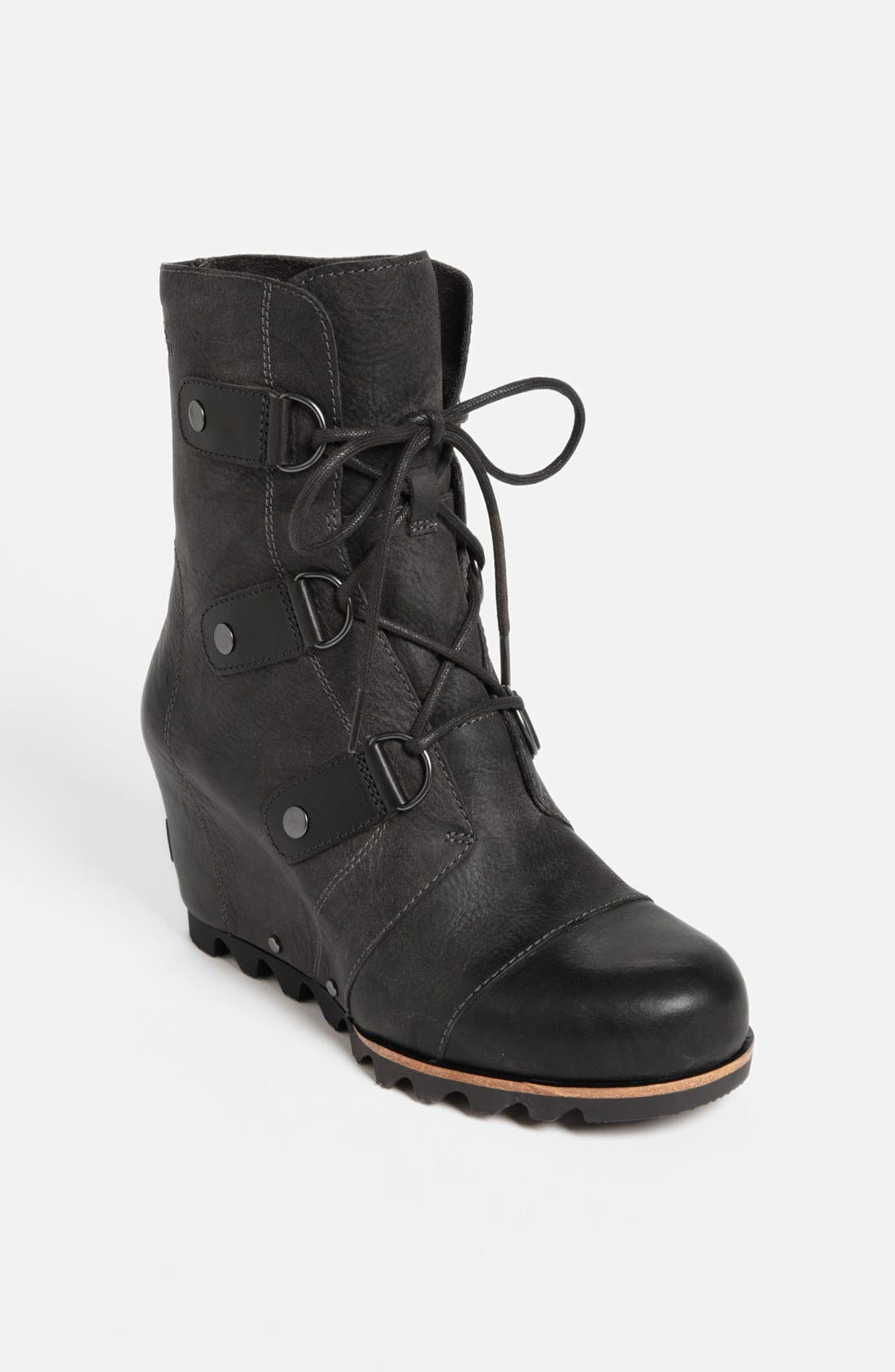 'Joan of Arctic' Wedge Boot,                             Main thumbnail 1, color,                             010