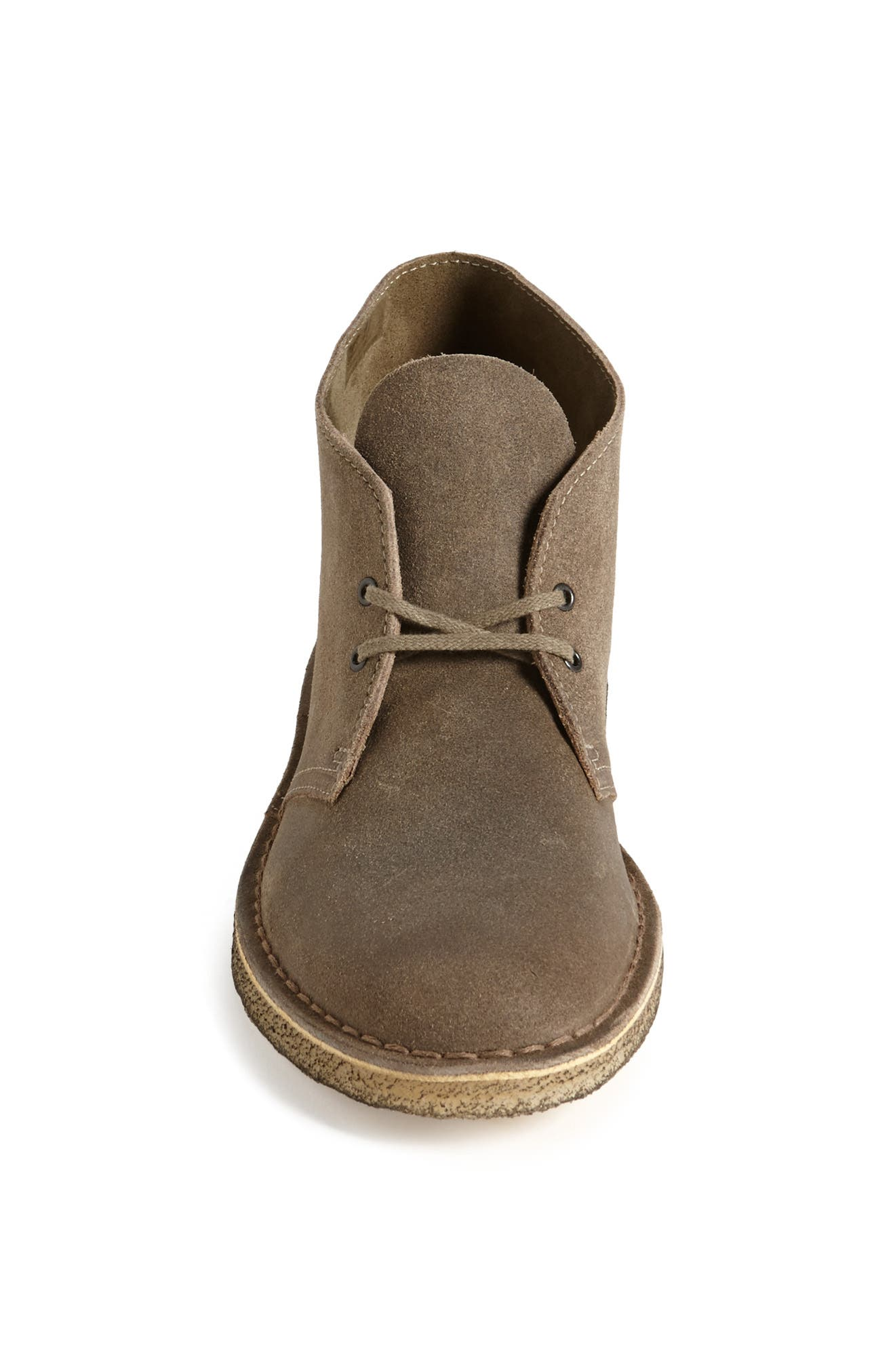 'Desert' Boot,                             Alternate thumbnail 4, color,                             TAUPE DISTRESSED SUEDE