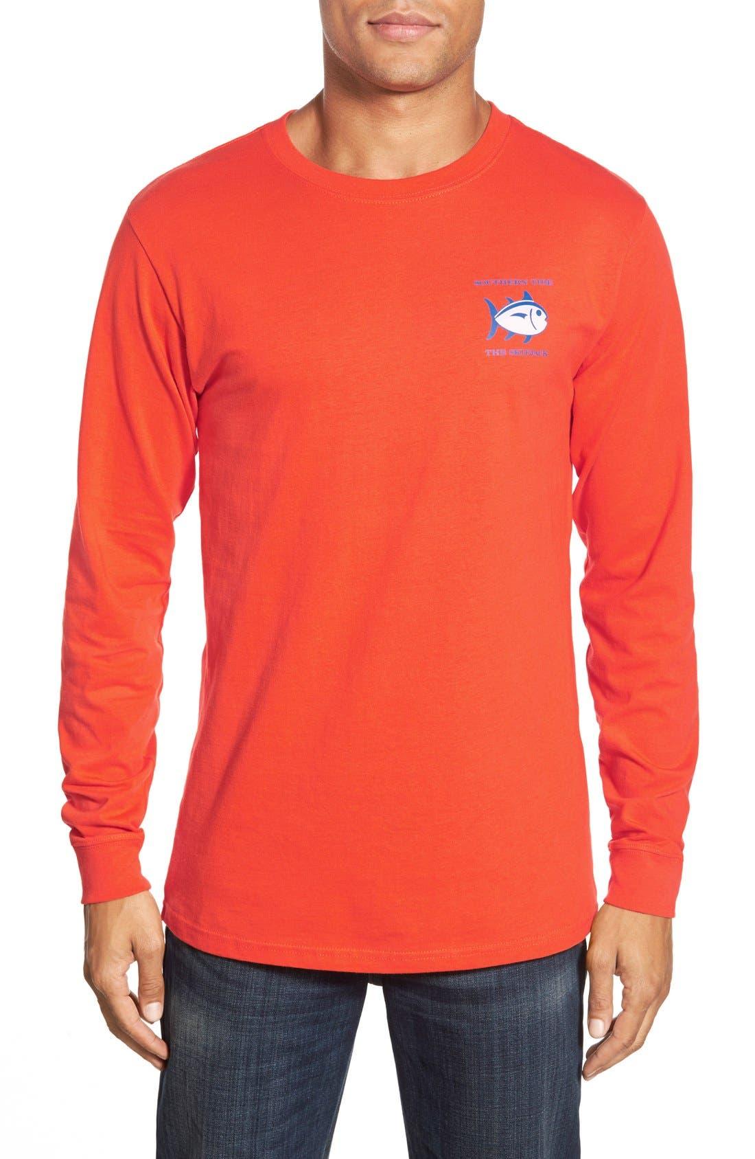 'Skipjack'Long Sleeve Graphic T-Shirt,                             Alternate thumbnail 55, color,