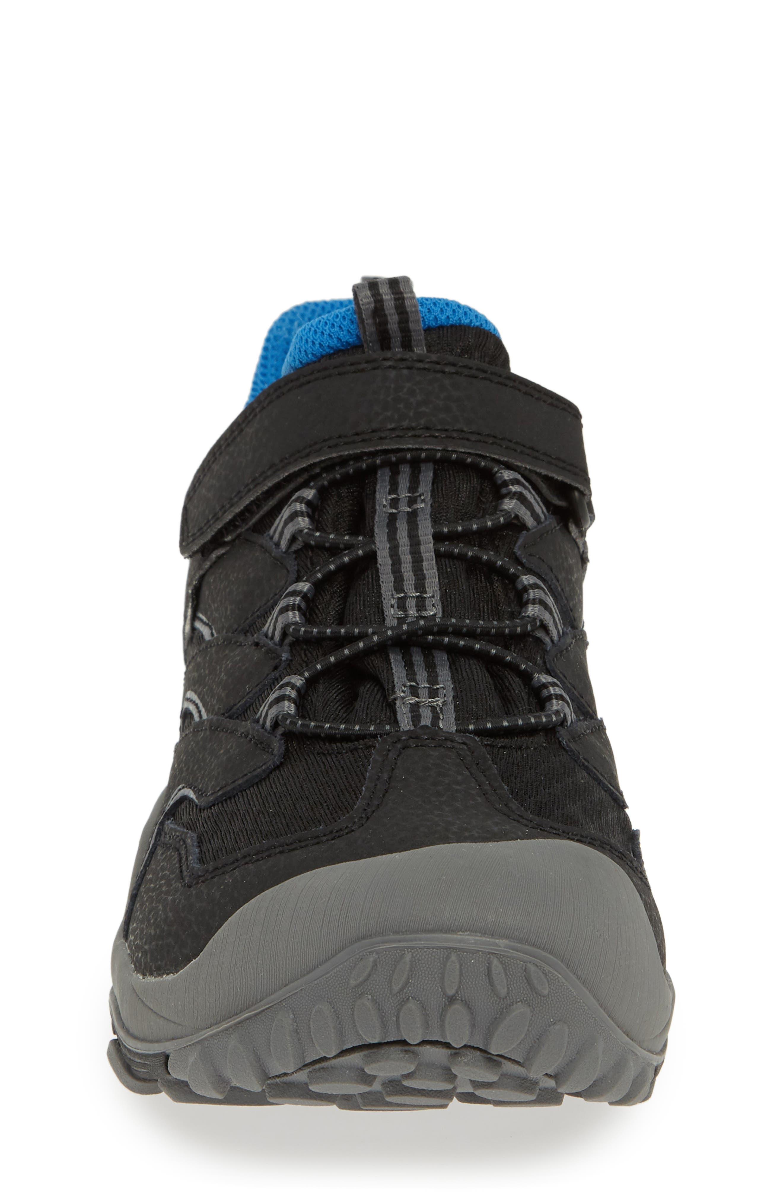 Chameleon 7 Waterproof Sneaker,                             Alternate thumbnail 4, color,                             BLACK