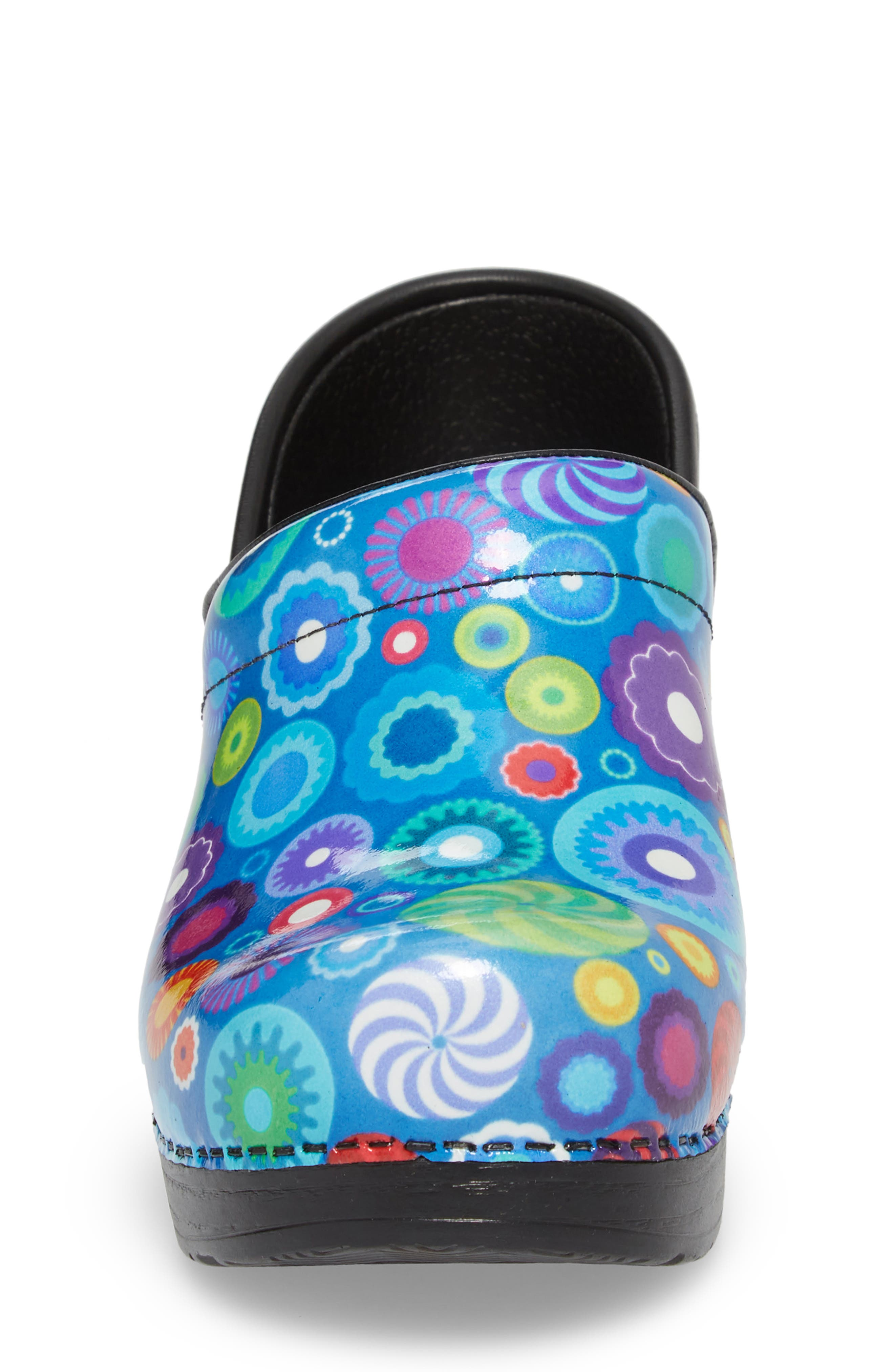 Professional Clog,                             Alternate thumbnail 4, color,                             CANDY PATENT LEATHER