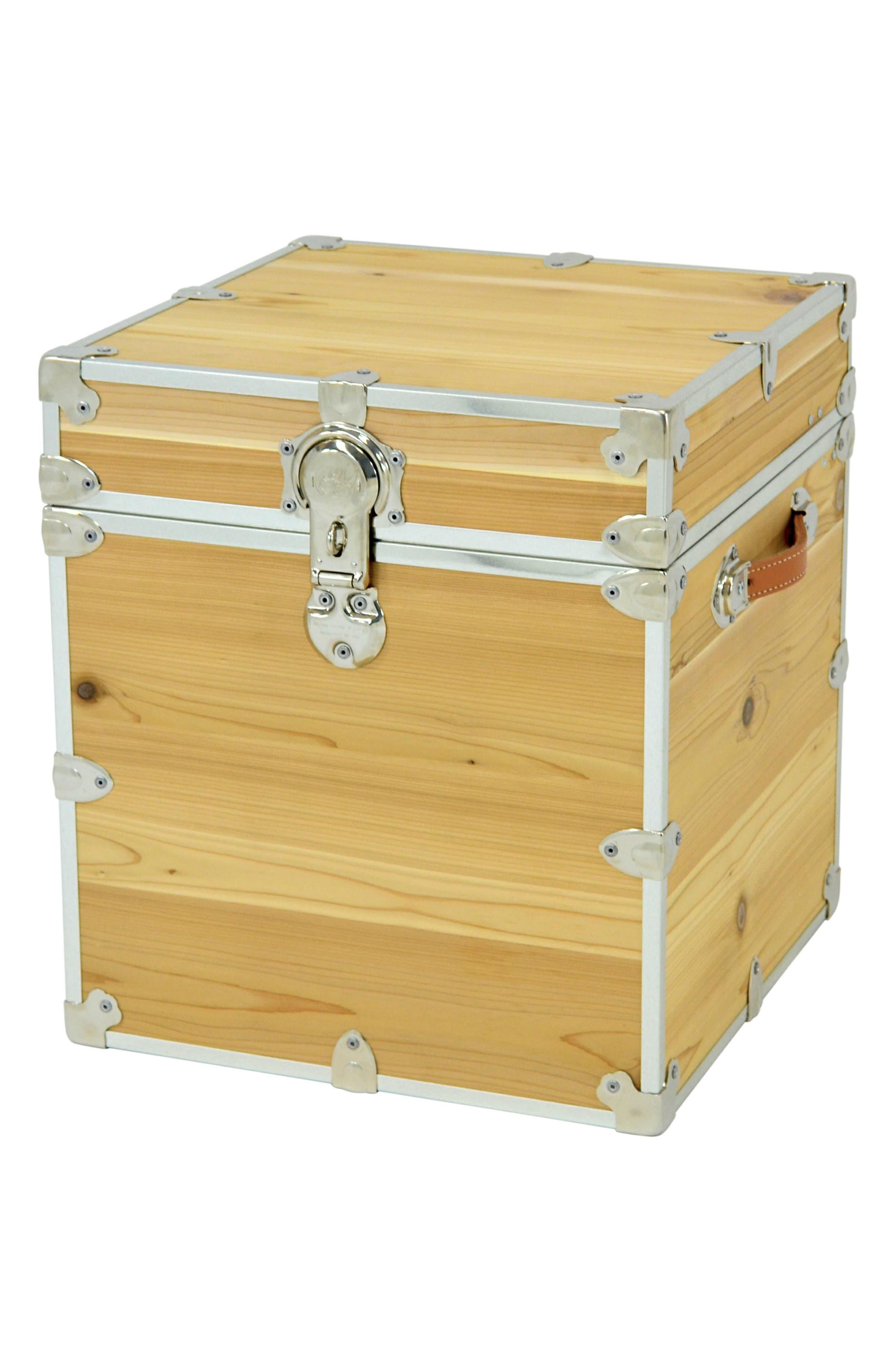 Rhino Trunk & Case Knotty Cedar Cube Trunk,                         Main,                         color, 250