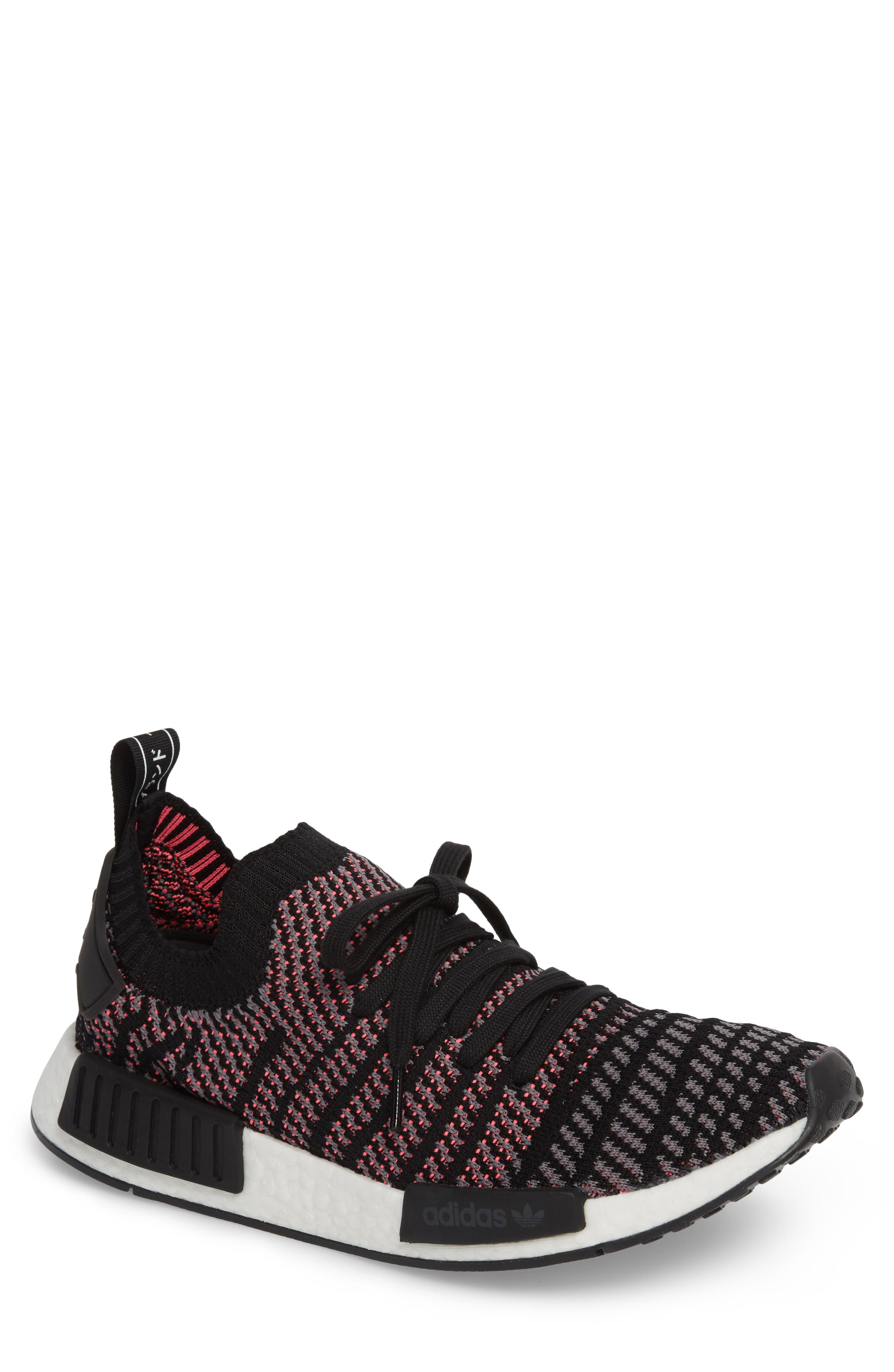 NMD R1 STLT Primeknit Sneaker,                             Main thumbnail 2, color,