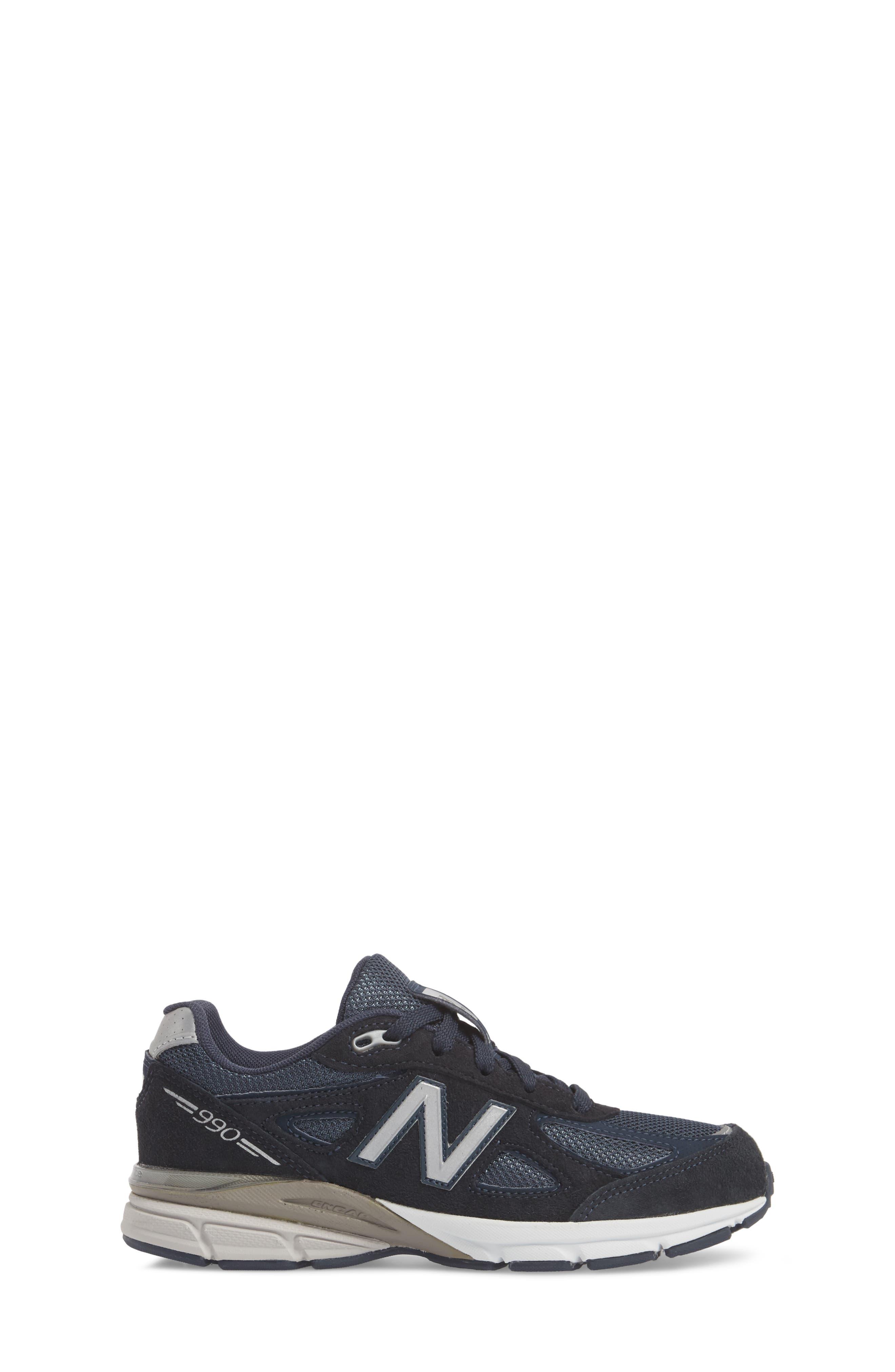 990v4 Sneaker,                             Alternate thumbnail 3, color,