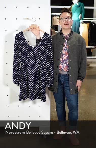 Printed A-Line Dress, sales video thumbnail
