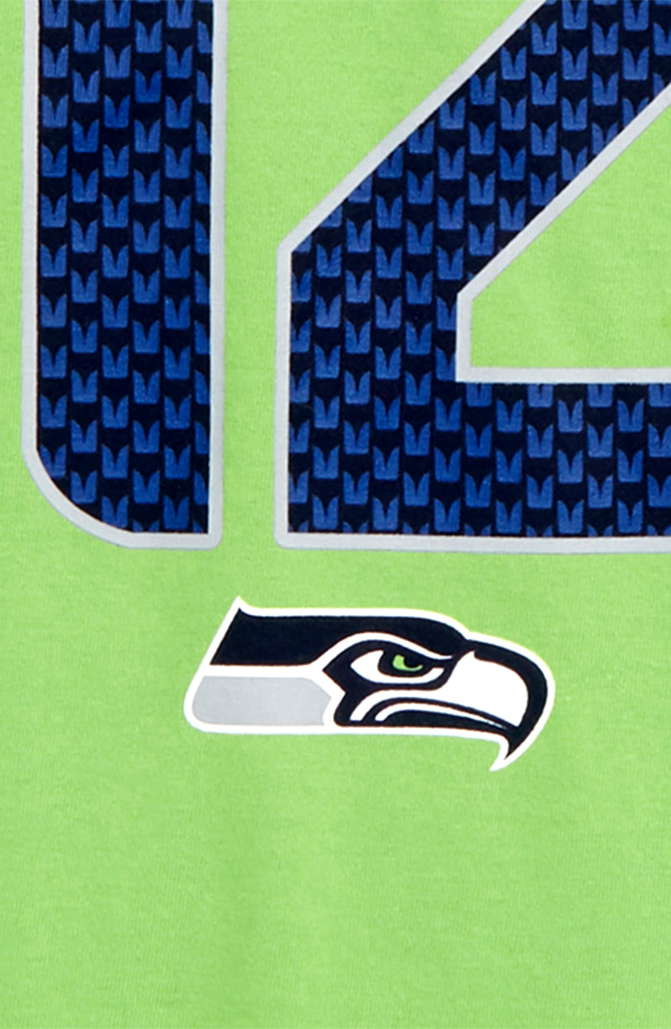 Dry Hyperlocal NFL Seattle Seahawks T-Shirt,                             Alternate thumbnail 2, color,                             GREEN