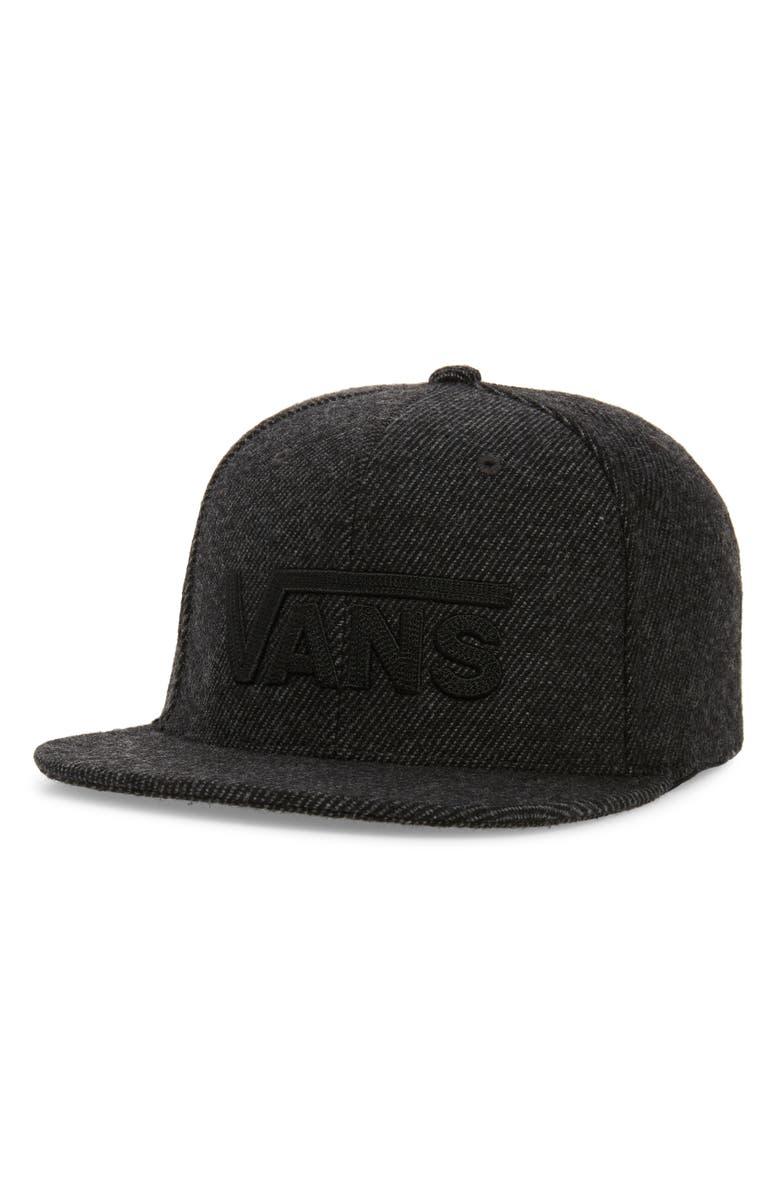 fe3146cc7287 Vans Drop V II Wool Blend Cap