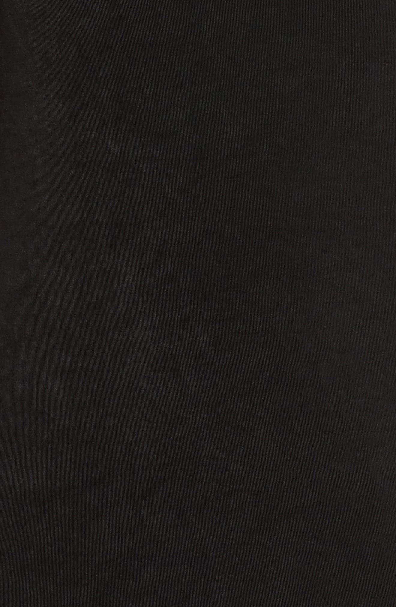 VIKKI VI,                             Sleeveless Shift Dress,                             Alternate thumbnail 5, color,                             BLACK
