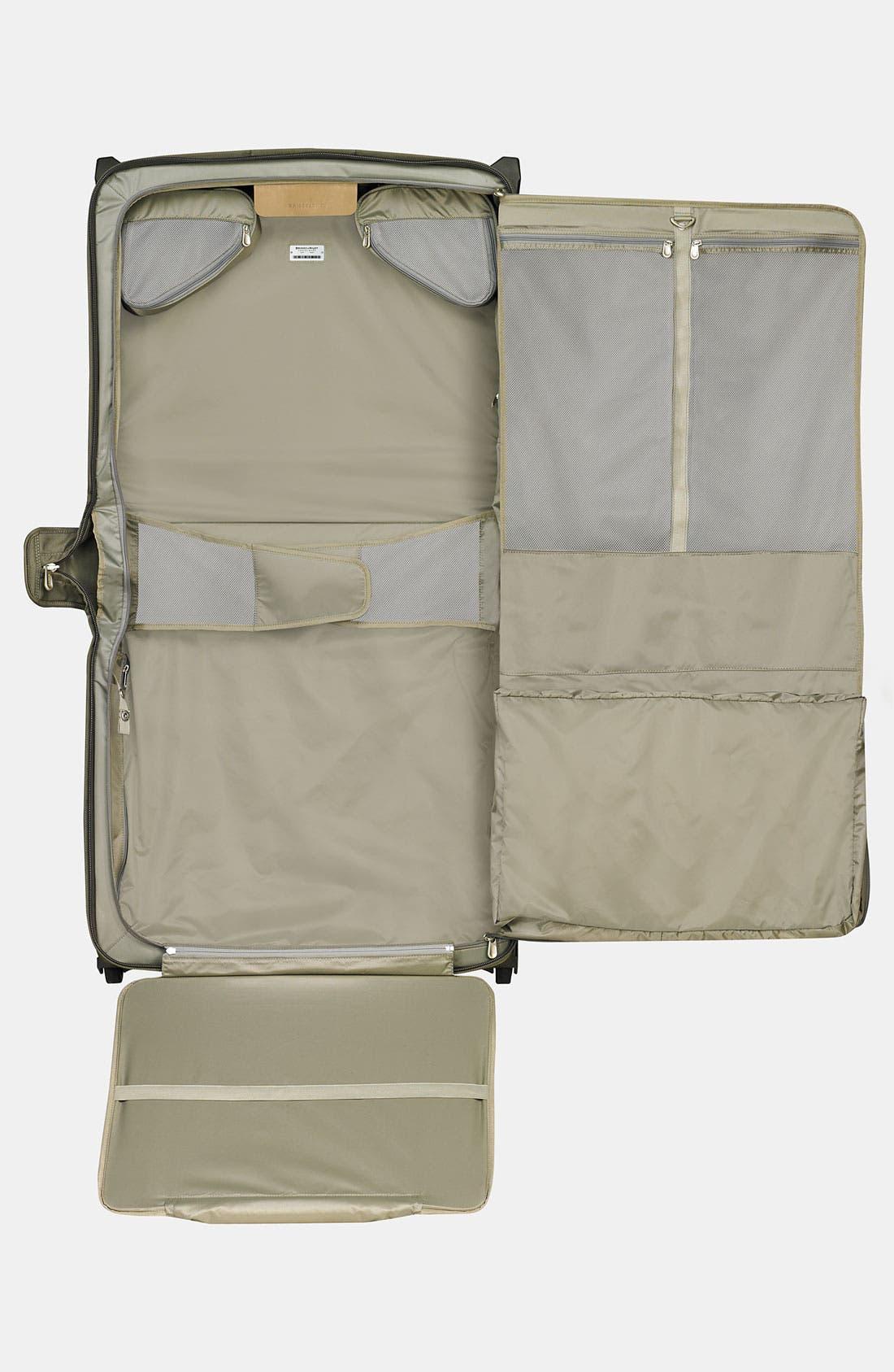 'Baseline - Deluxe' Rolling Garment Bag,                             Alternate thumbnail 2, color,                             OLIVE