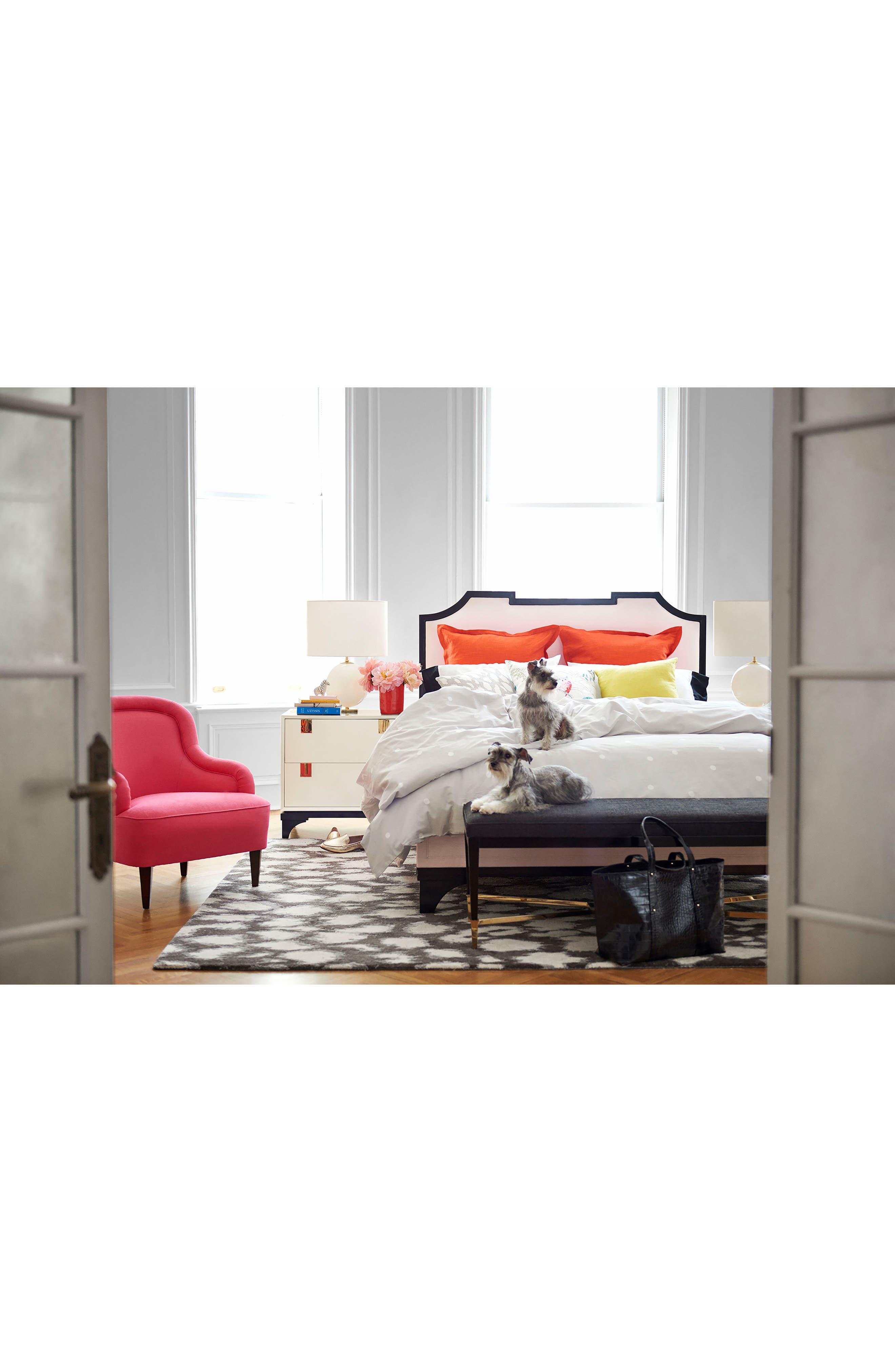 'gramercy - animal print' wool & silk rug,                             Alternate thumbnail 10, color,