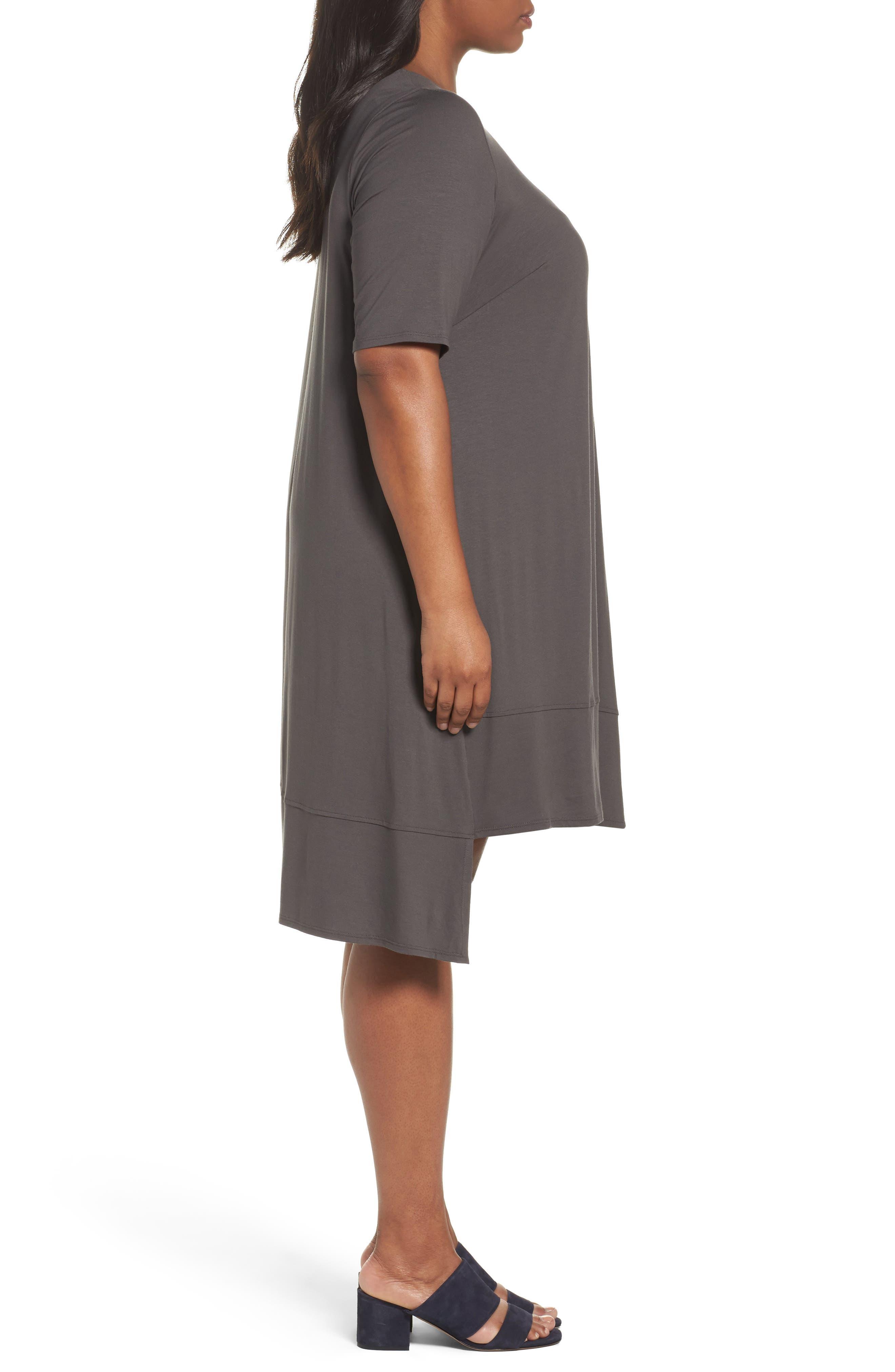 Jersey Shift Dress,                             Alternate thumbnail 10, color,