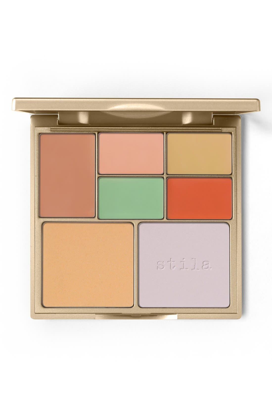 STILA,                             Correct & Perfect All-in-One Color Correcting Palette,                             Main thumbnail 1, color,                             NO COLOR