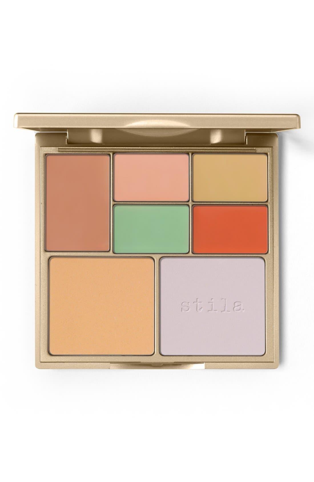 STILA Correct & Perfect All-in-One Color Correcting Palette, Main, color, NO COLOR