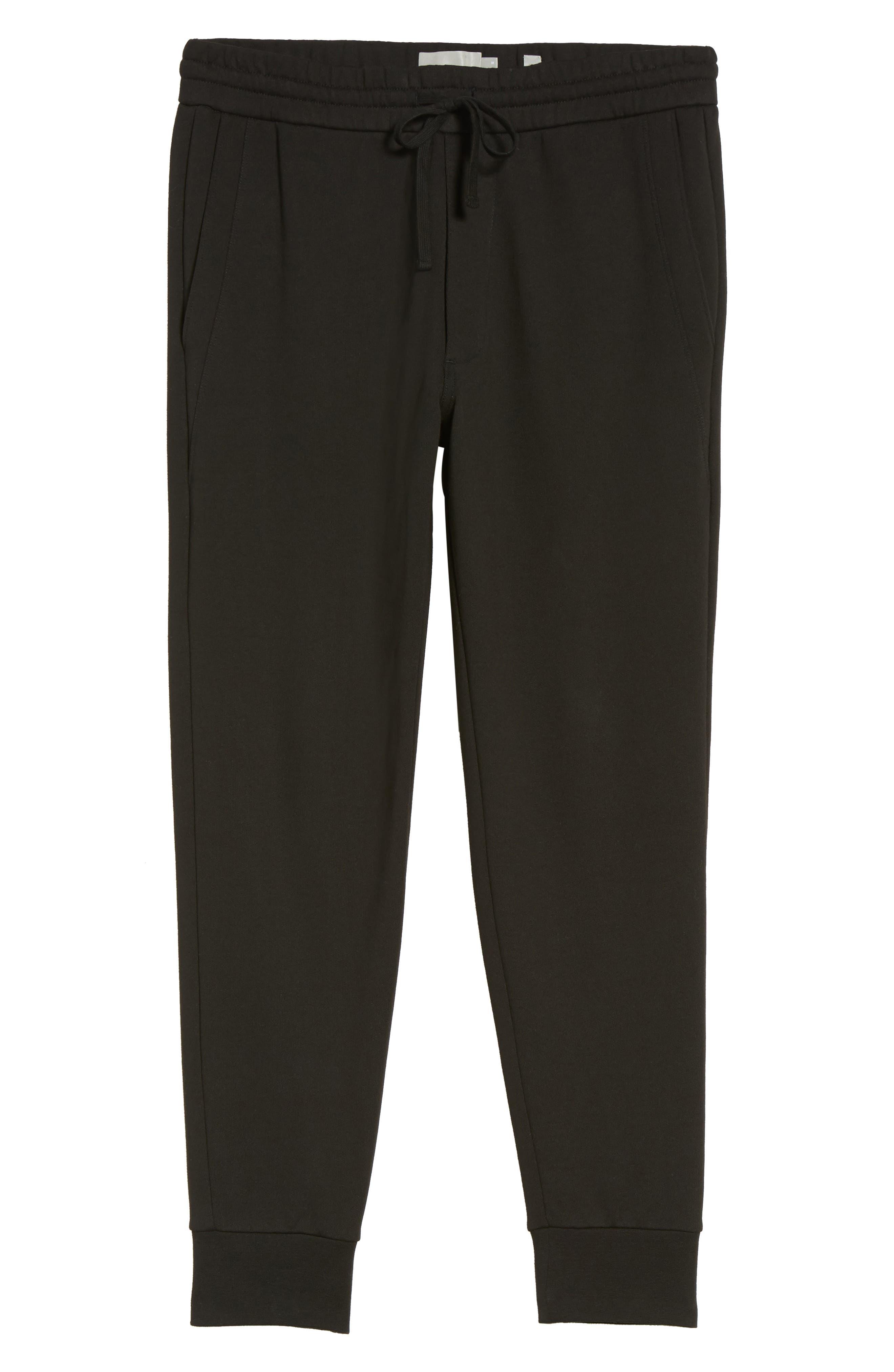 Cotton Sweatpants,                             Alternate thumbnail 6, color,                             001