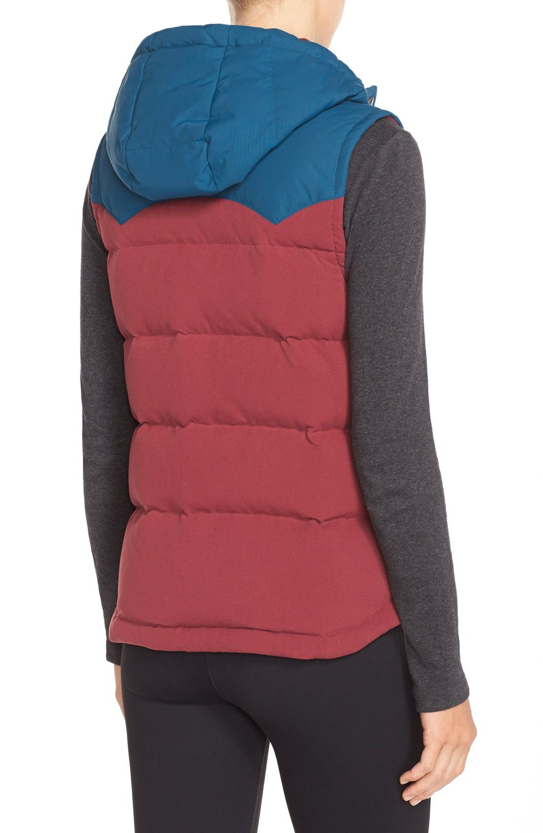'Bivy' Water Repellent 600 Fill Power Down Vest,                             Alternate thumbnail 17, color,