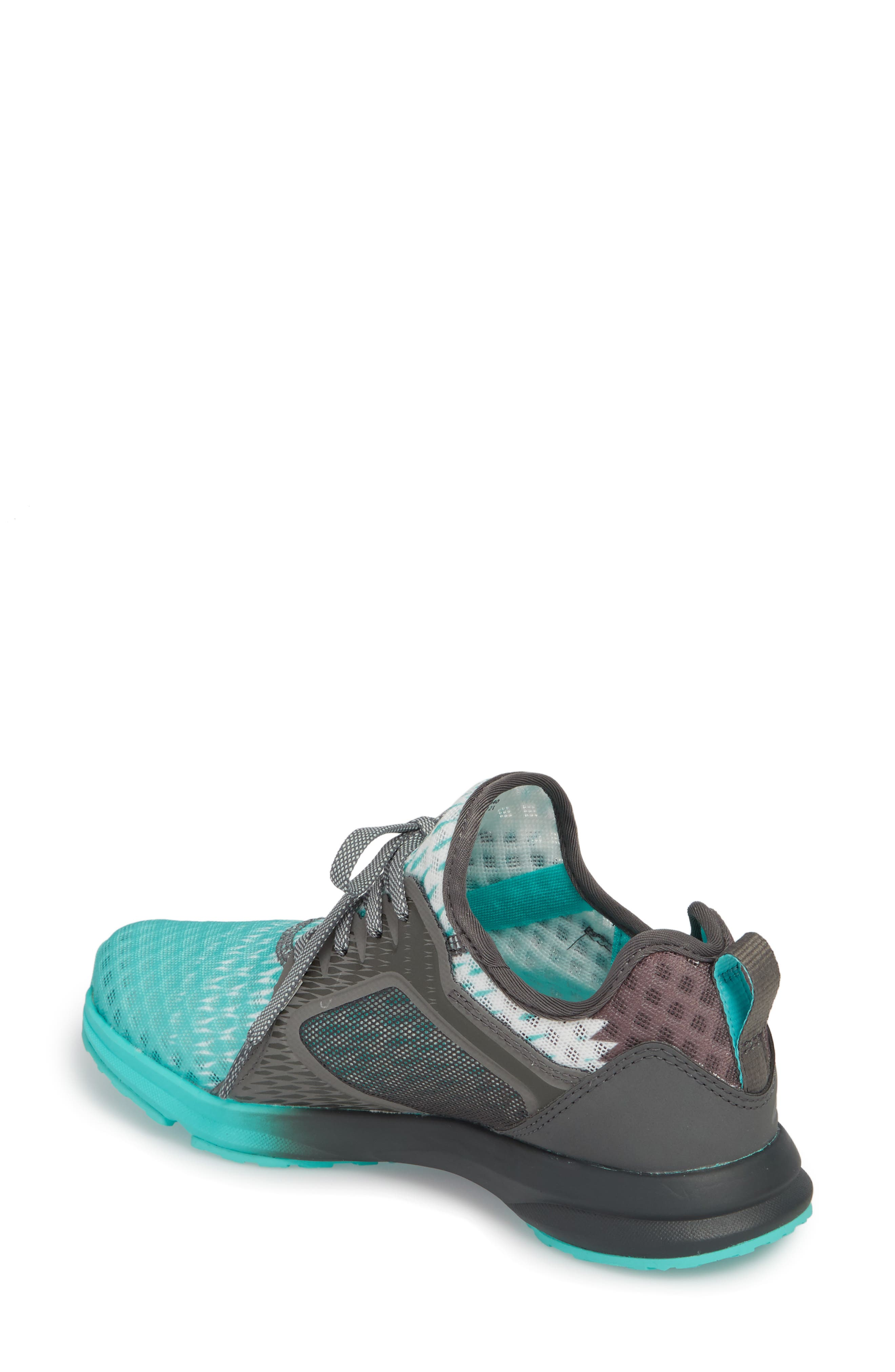 Fuse Ombré Sneaker,                             Alternate thumbnail 2, color,                             TURQUOISE MESH