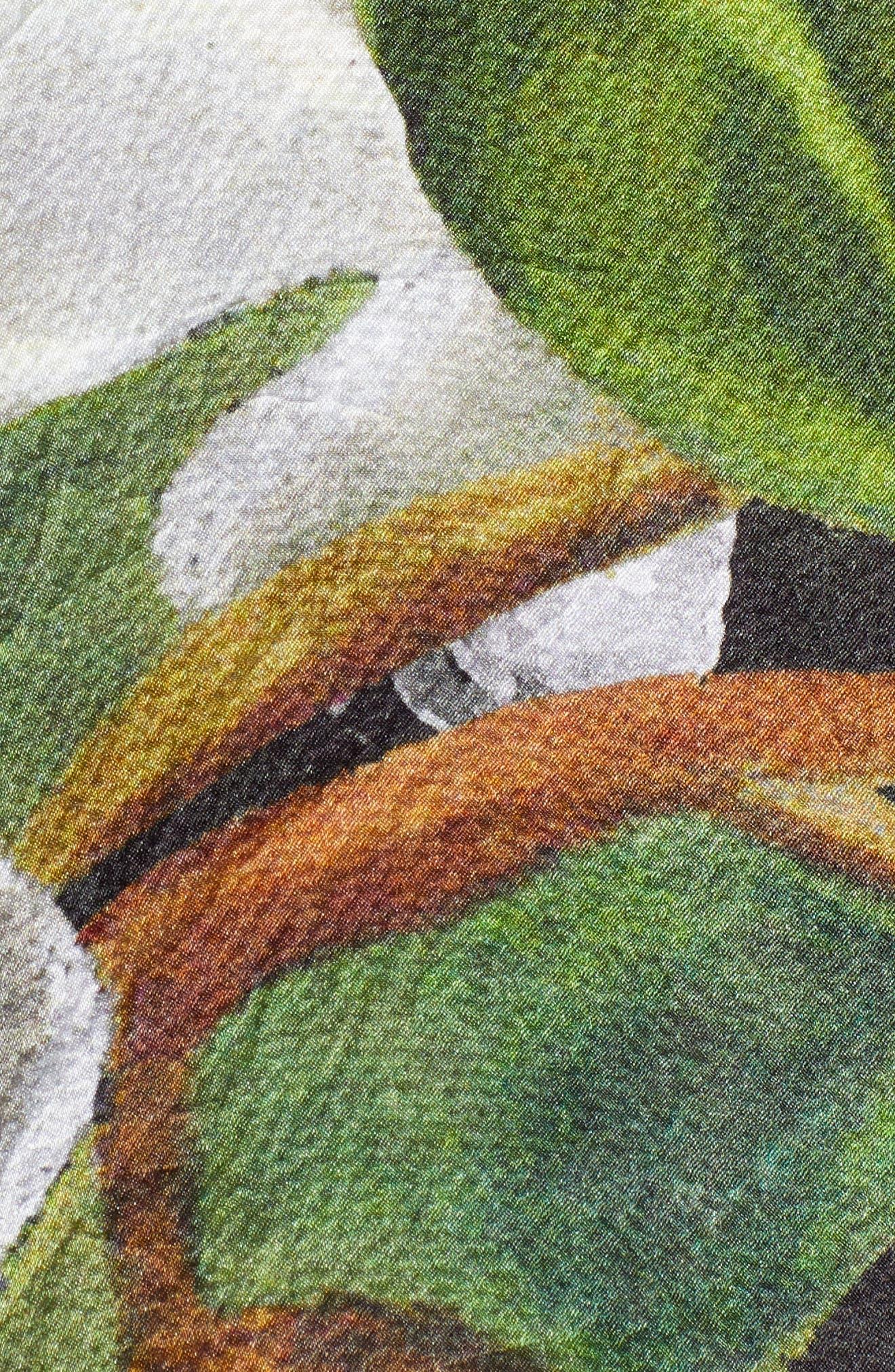 Windereme Silk Cape Scarf,                             Alternate thumbnail 5, color,                             400