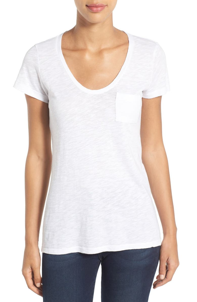 fa488af346a Wearing XS--- Caslon® Rounded V-Neck Tee (Regular   Petite)