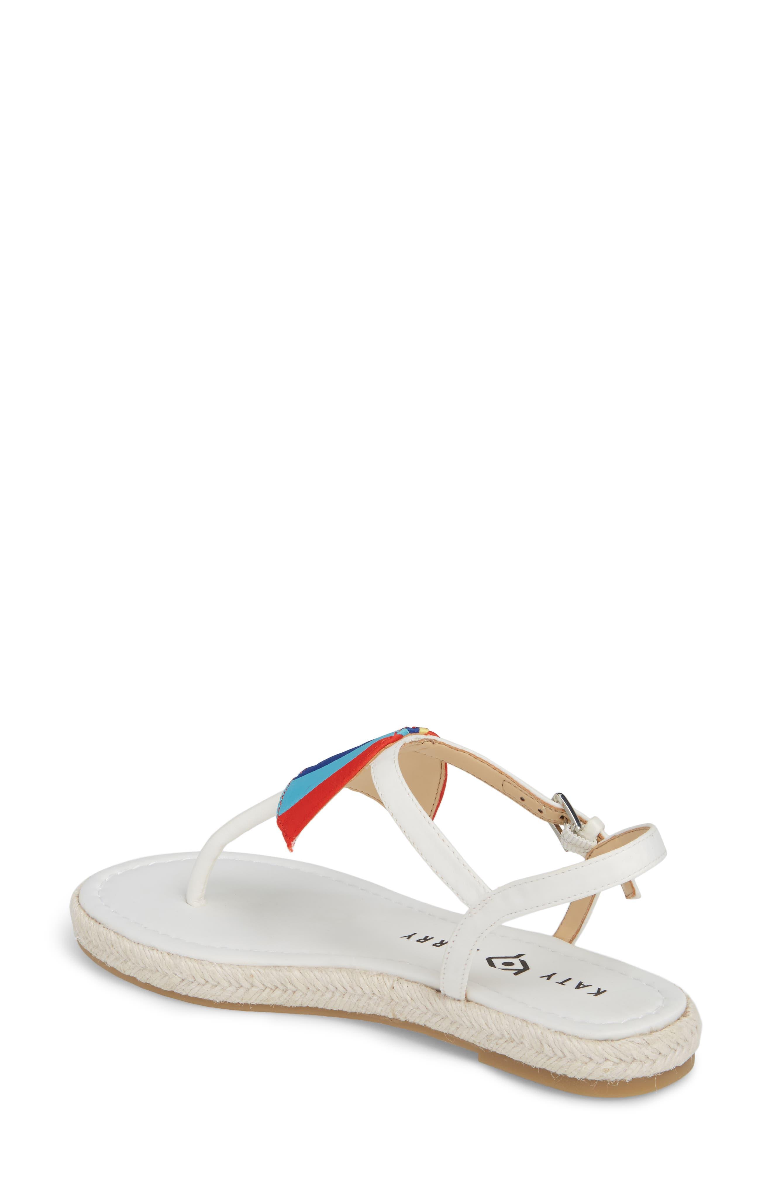 The Shay Espadrille Sandal,                             Alternate thumbnail 2, color,                             WHITE FABRIC