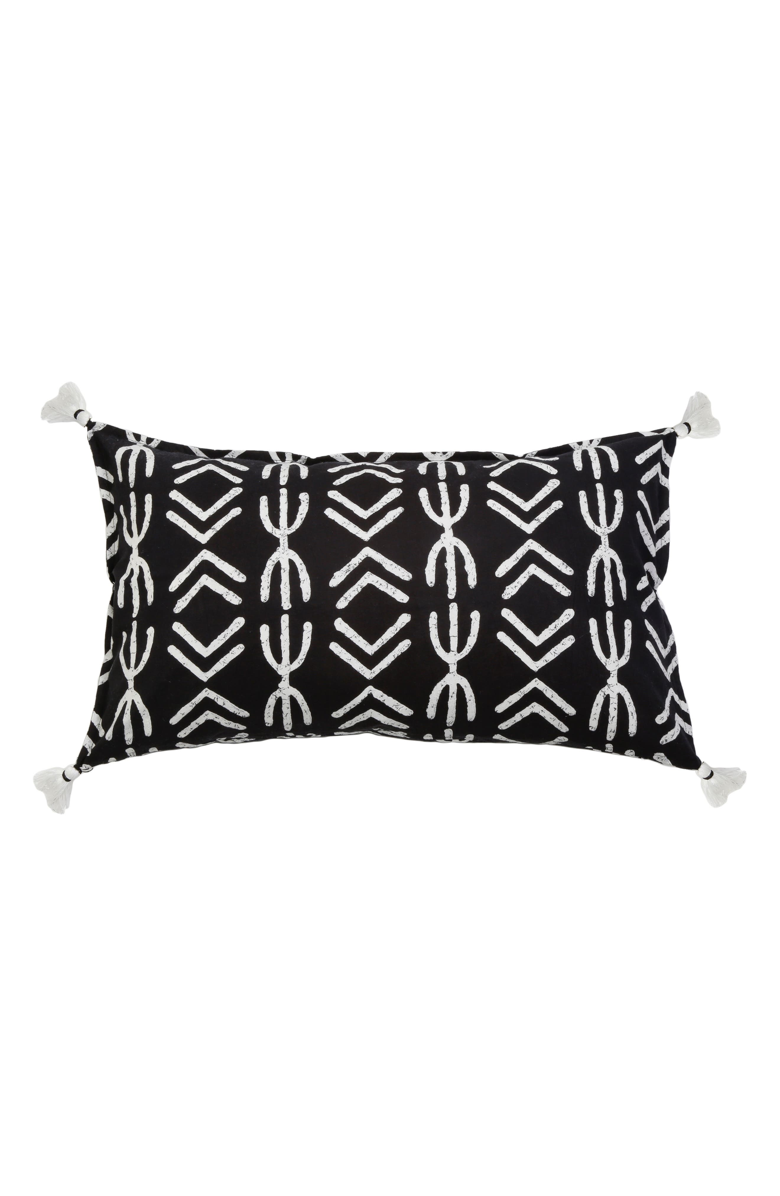Spear Accent Pillow,                             Main thumbnail 1, color,                             001