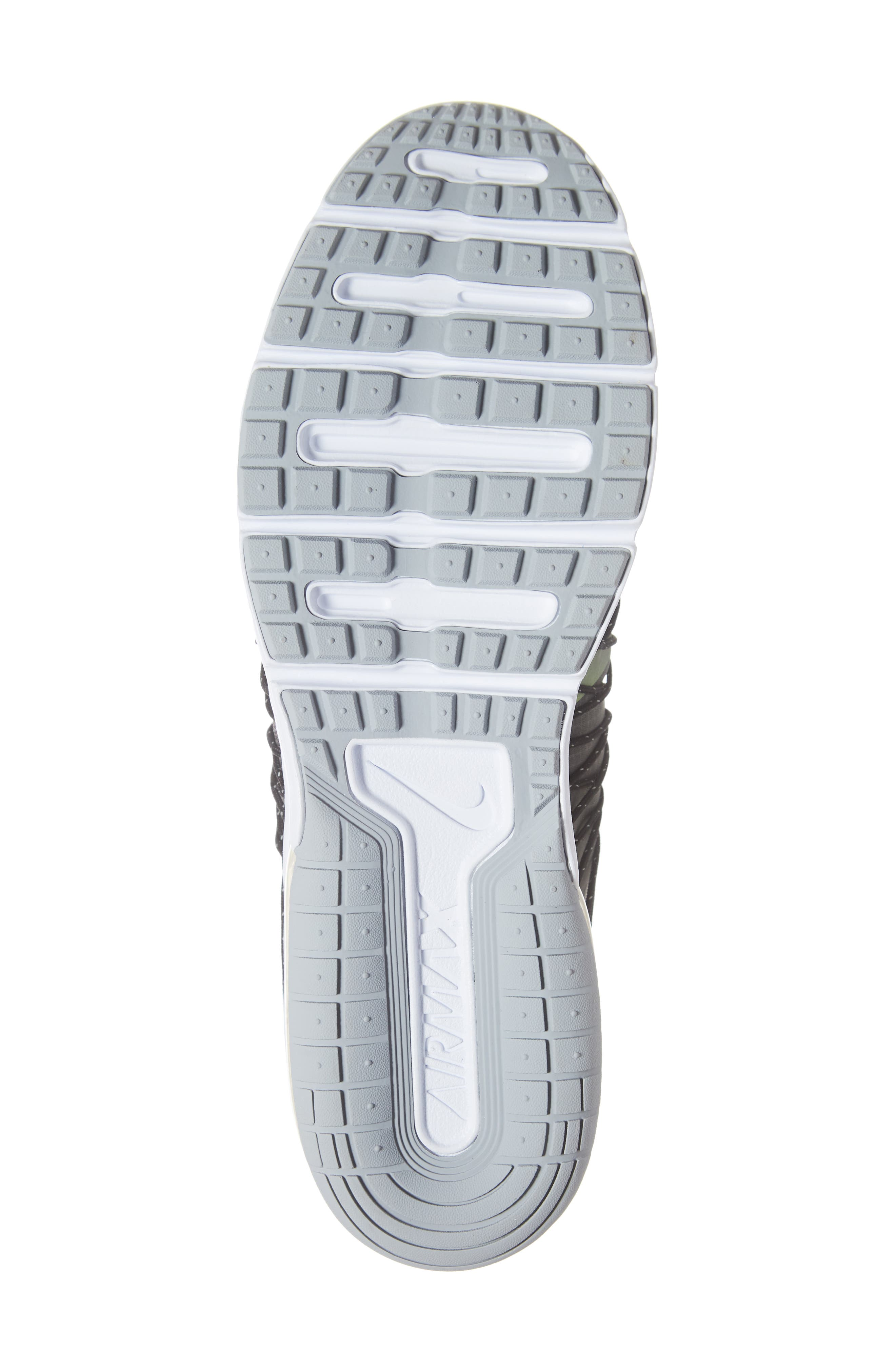 Air Max Sequent 4 Utility Running Shoe,                             Alternate thumbnail 6, color,                             THUNDER GREY/ VOLT