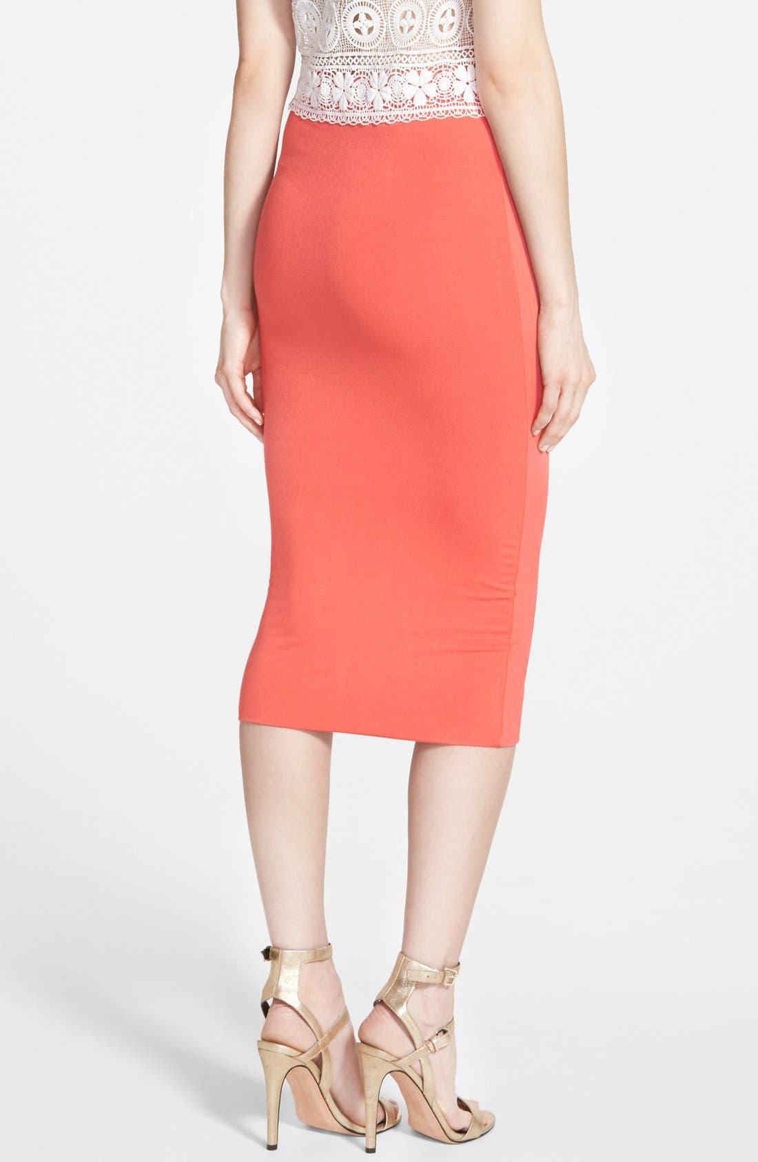 Double Layered Tube Skirt,                             Alternate thumbnail 19, color,