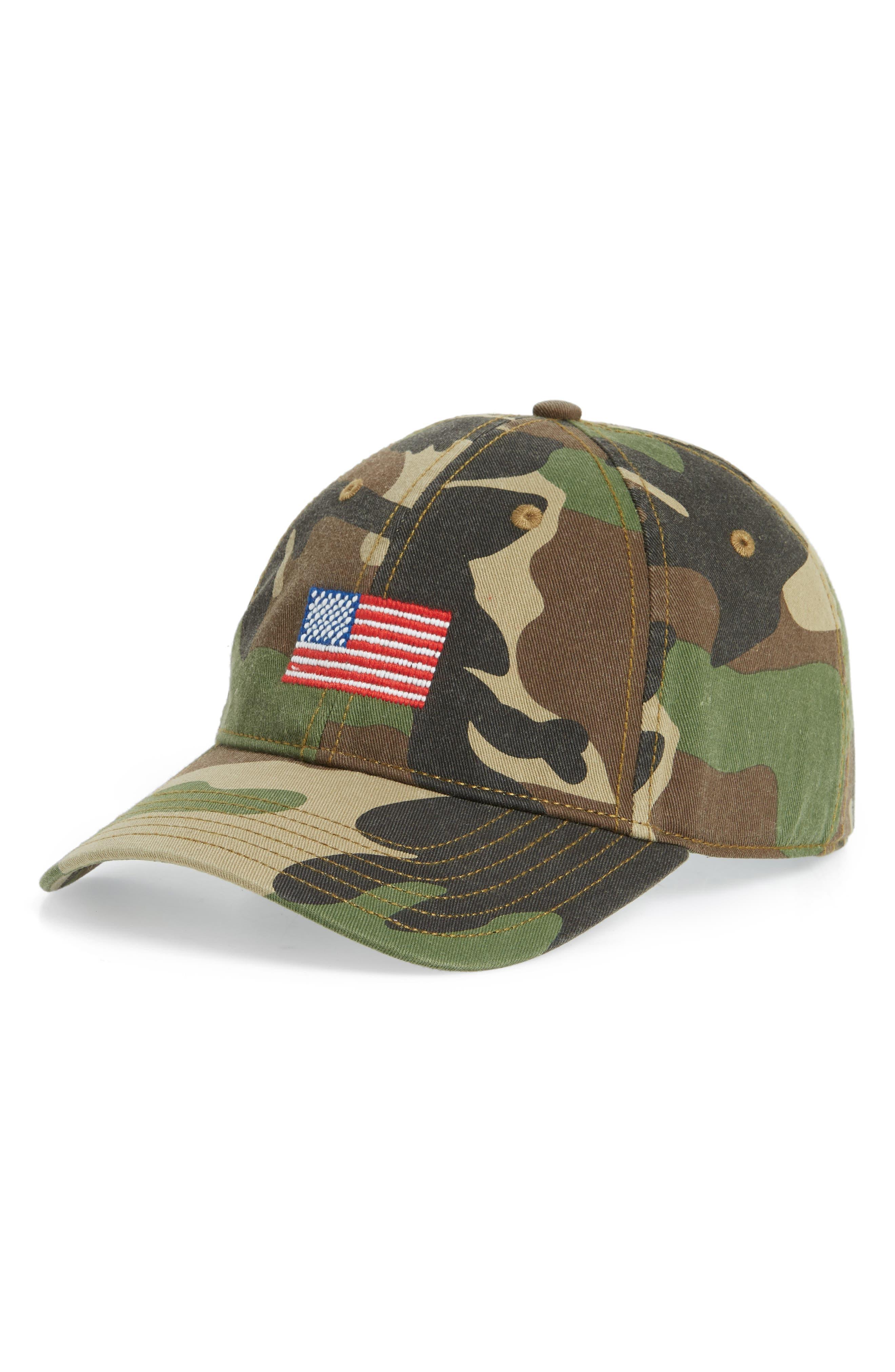 Baseball Cap,                         Main,                         color, CAMO