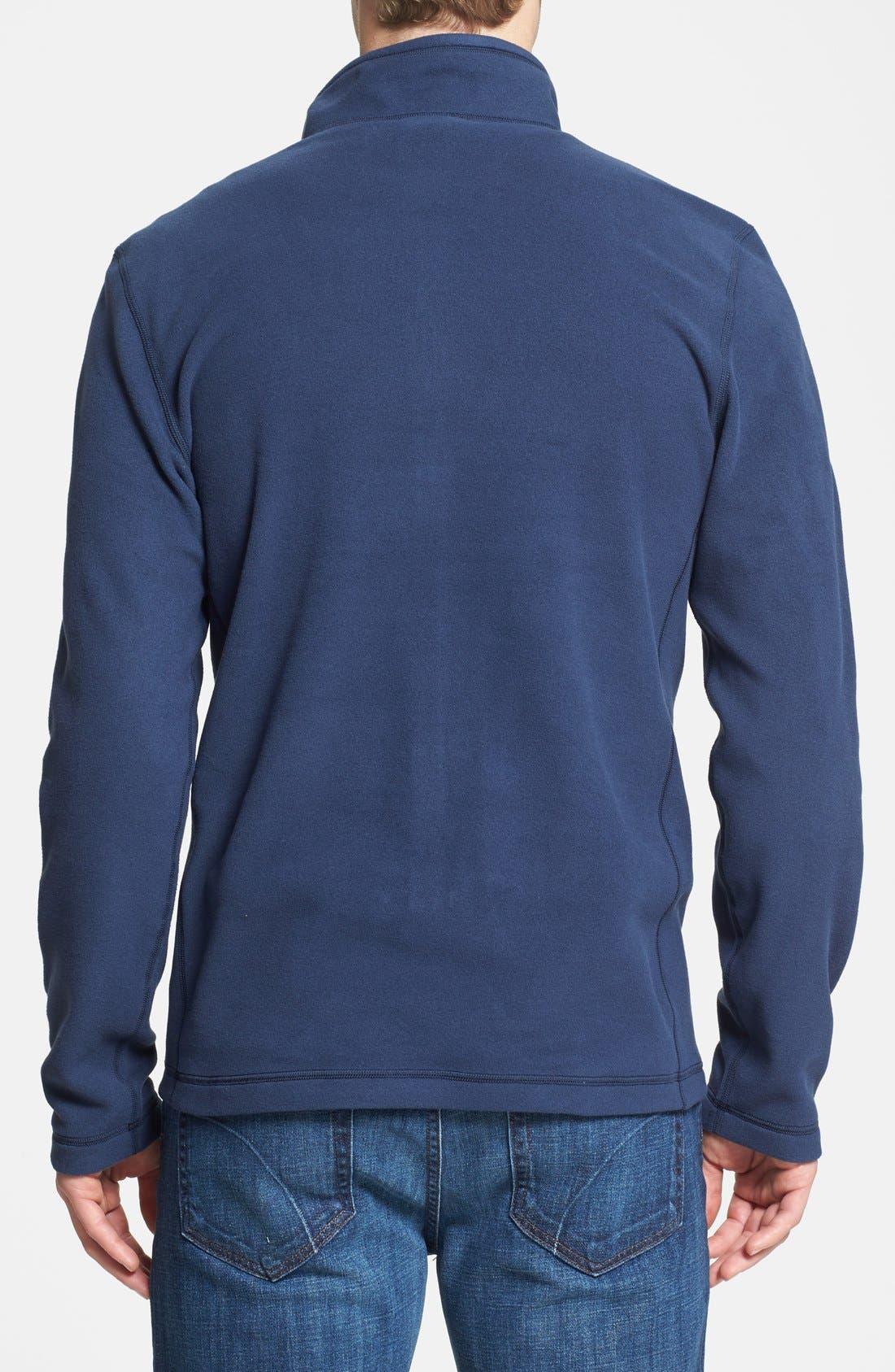 'TKA 100 Glacier' Quarter Zip Fleece Pullover,                             Alternate thumbnail 122, color,