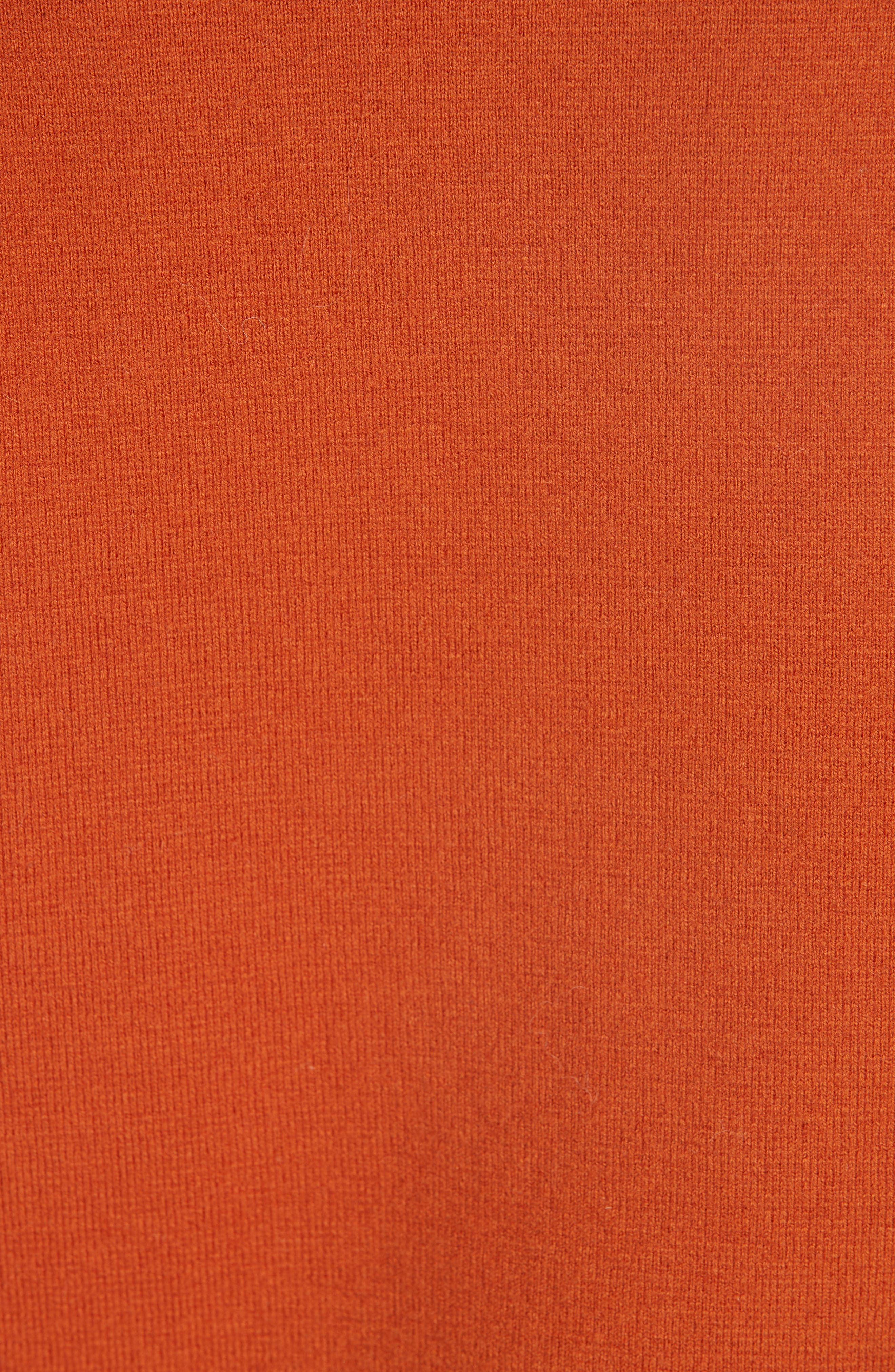 SEA,                             Rib Trim Milano Knit Sweater,                             Alternate thumbnail 5, color,                             800