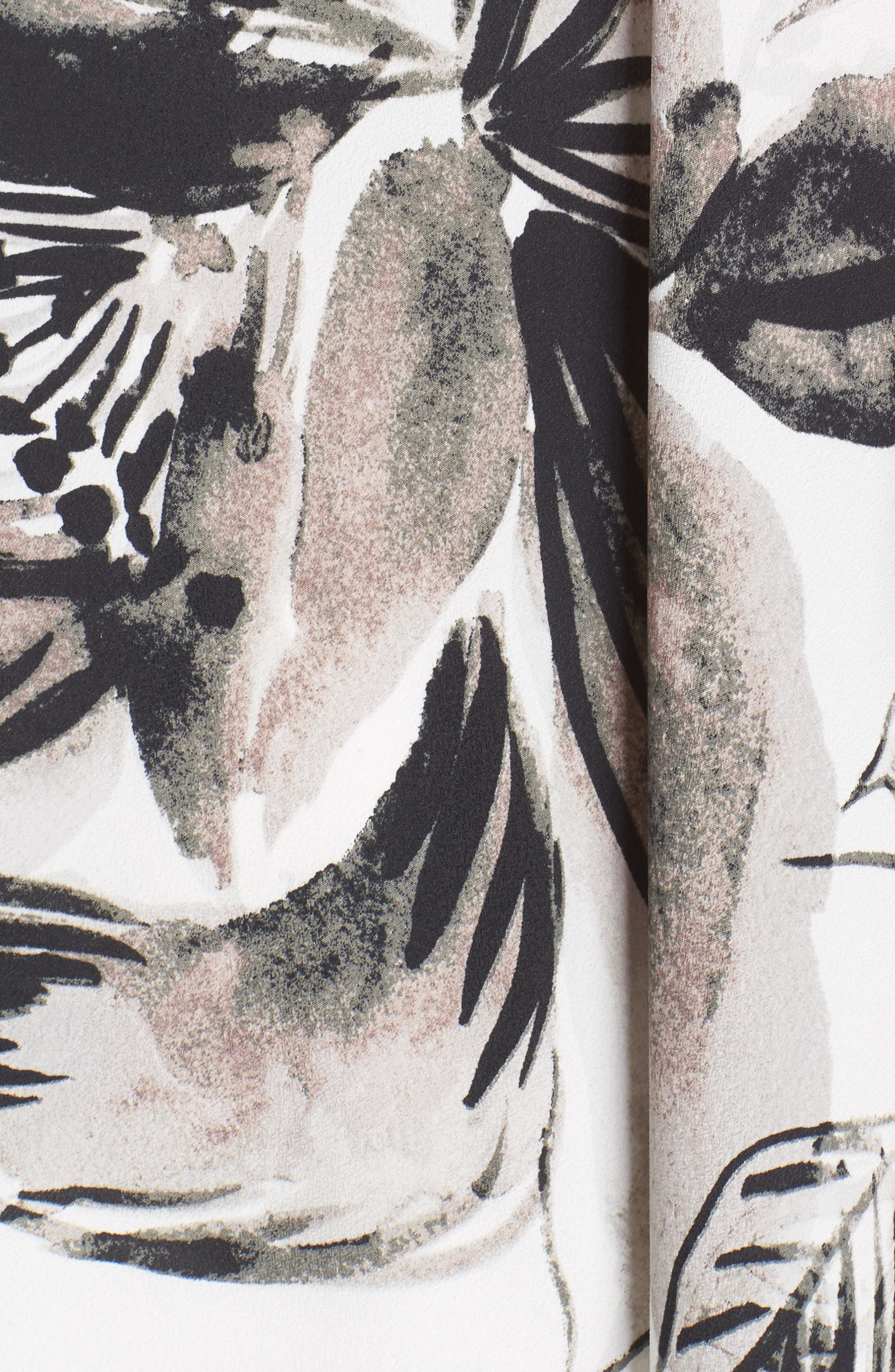 Chiffon Maxi Dress,                             Alternate thumbnail 6, color,                             011
