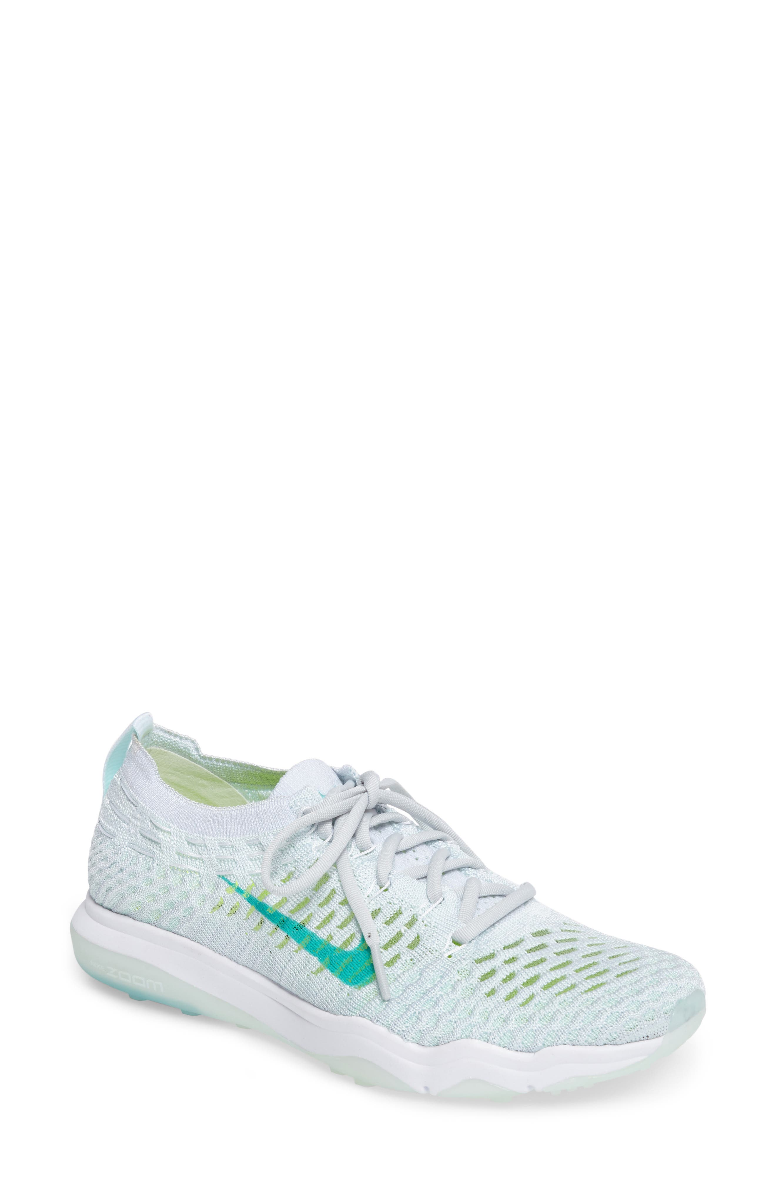 Air Zoom Fearless Flyknit Training Shoe,                             Main thumbnail 4, color,