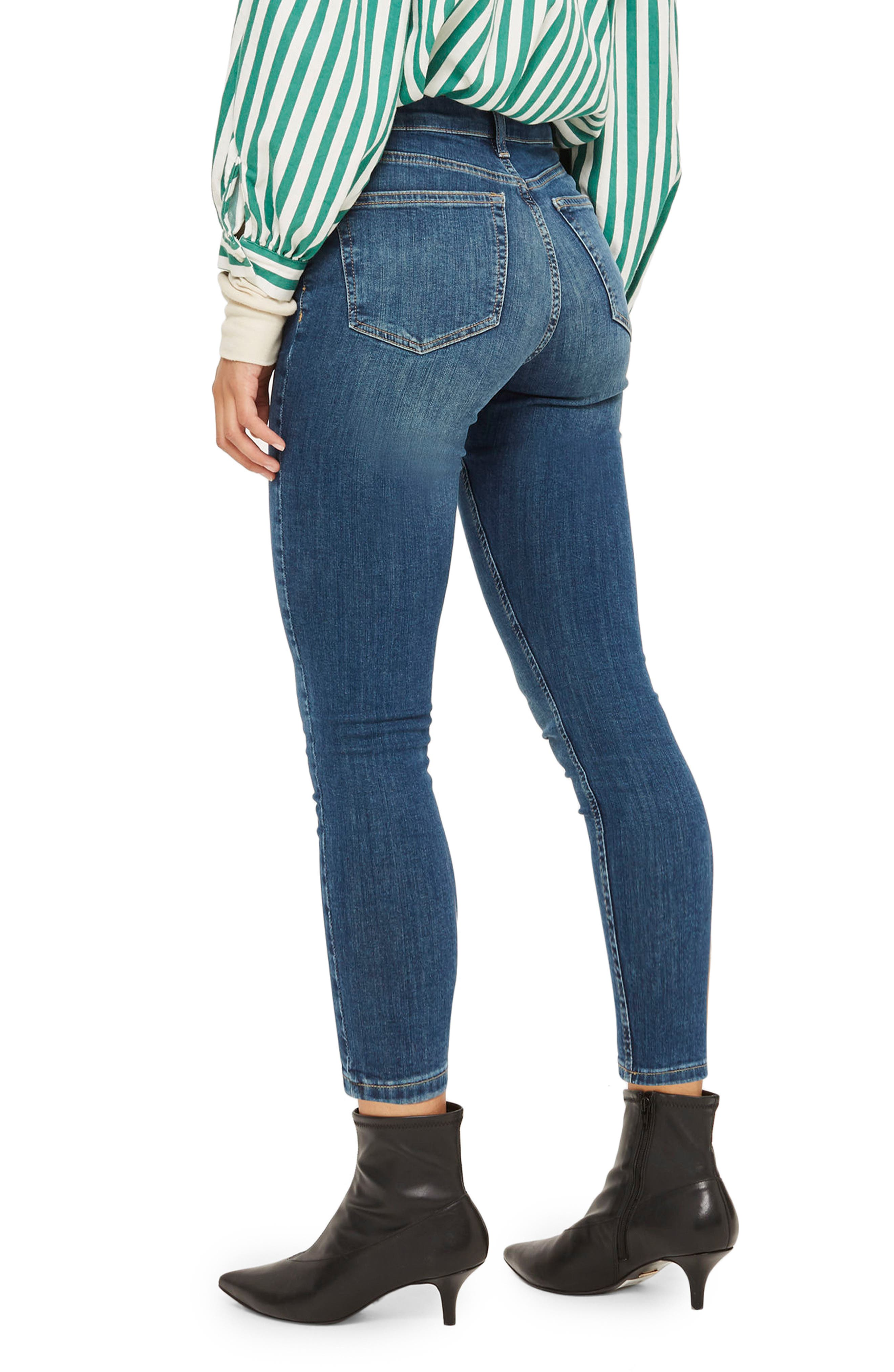 Jamie Petite Mid Denim Jeans,                             Alternate thumbnail 2, color,                             400