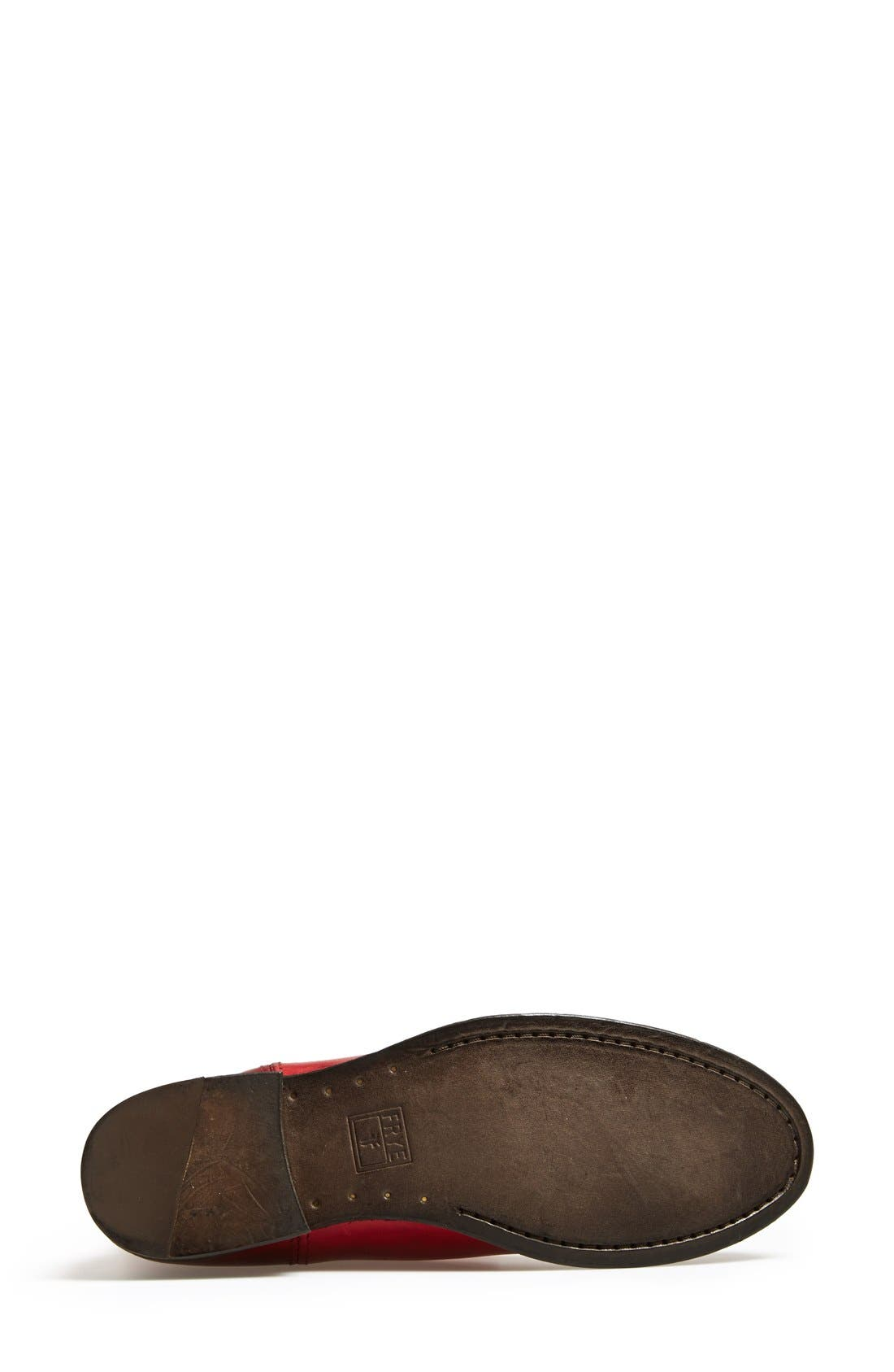 'Melissa Button' Leather Riding Boot,                             Alternate thumbnail 67, color,