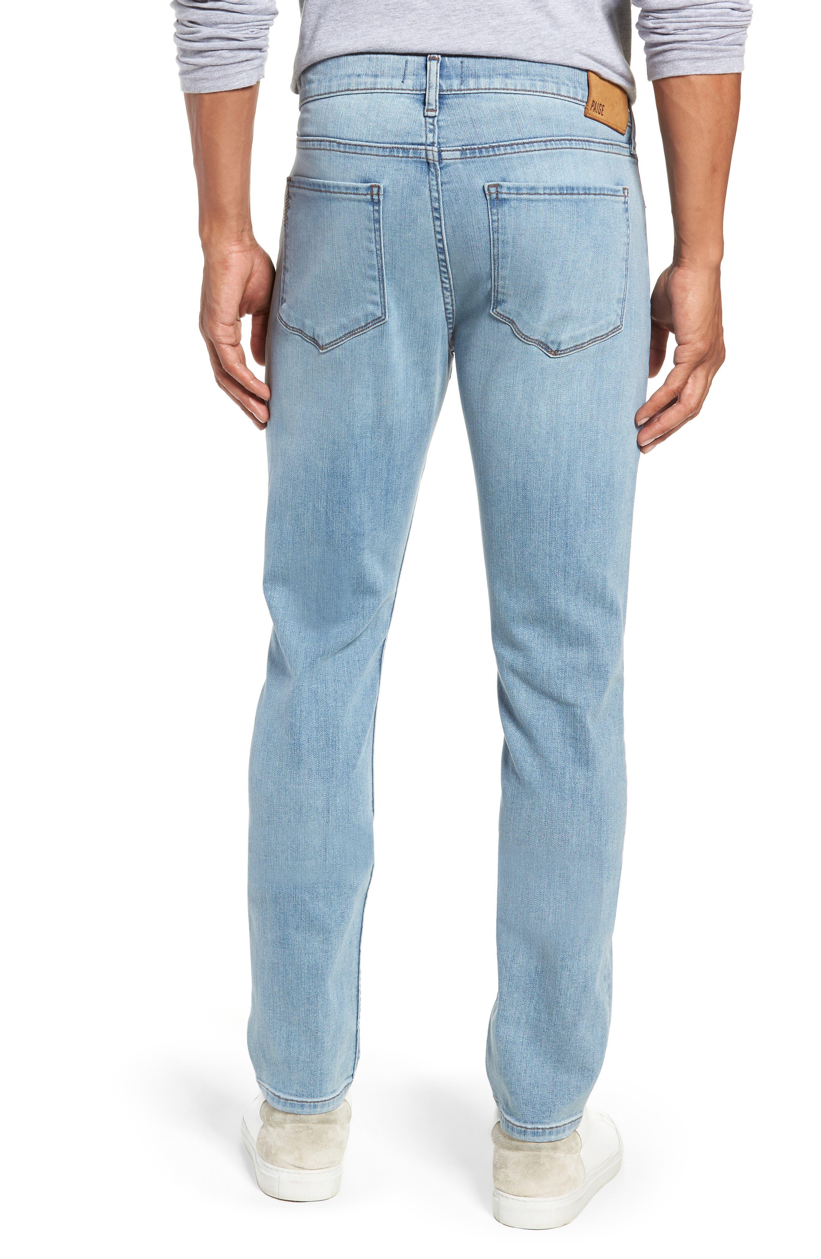 Transcend Vintage - Lennox Slim Fit Jeans,                             Alternate thumbnail 2, color,                             DENVER