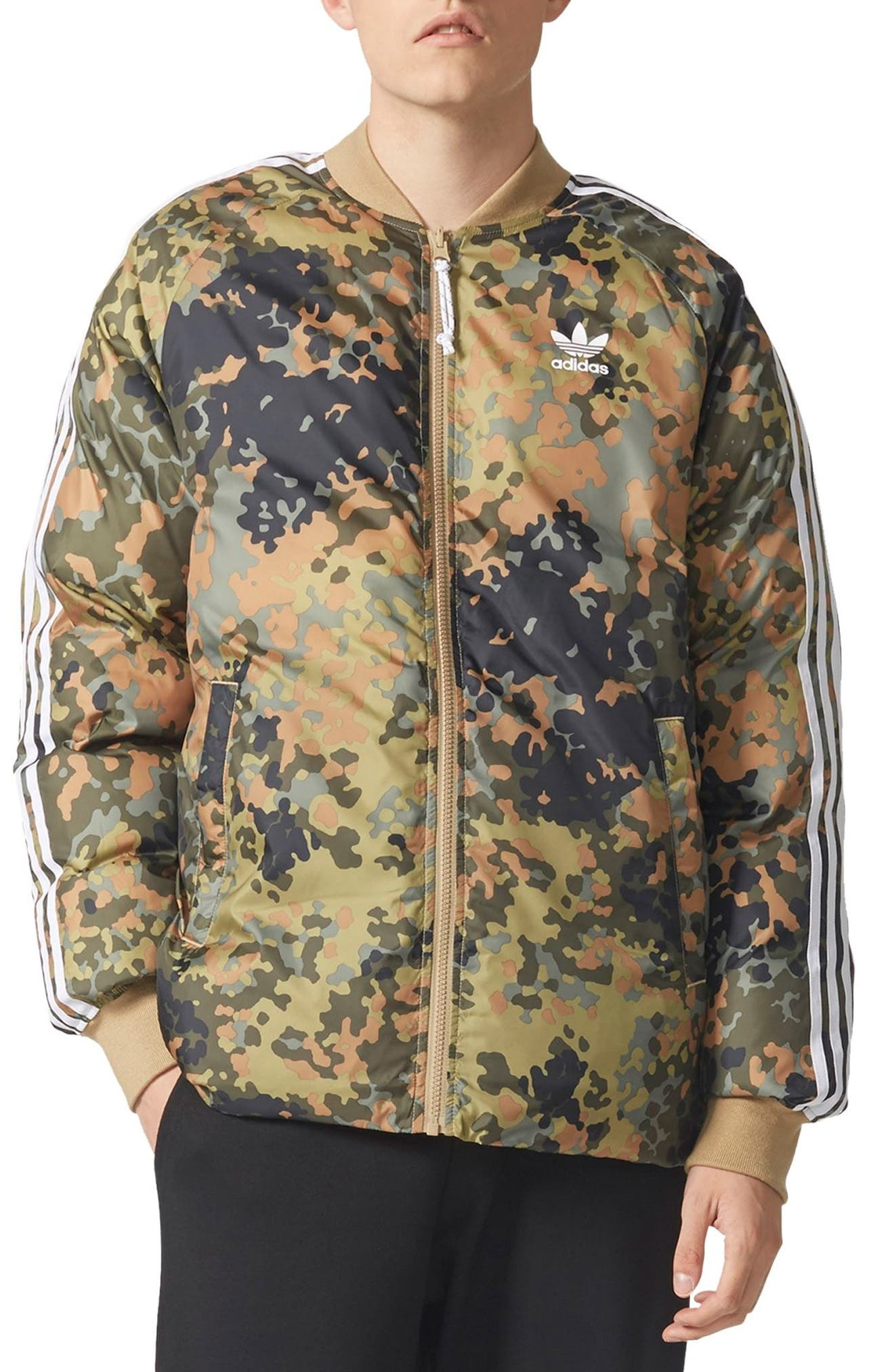 Originals SST Reversible Winter Jacket,                         Main,                         color,