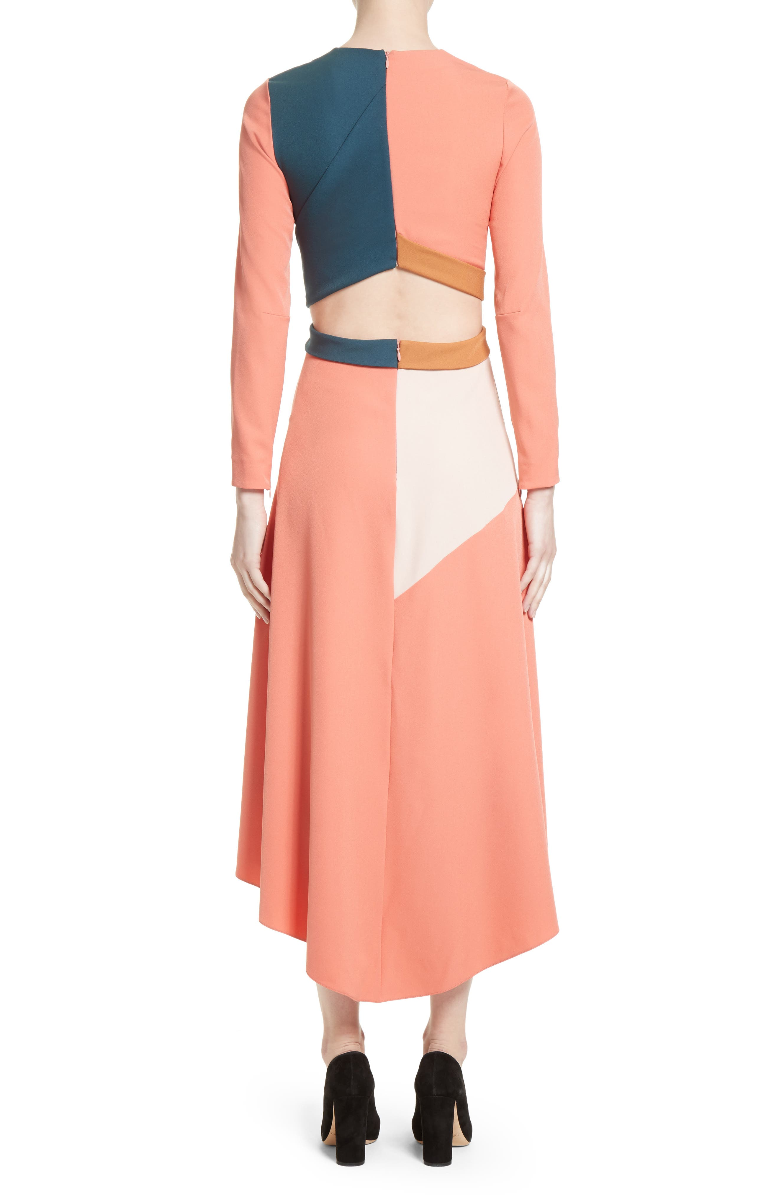 Himera Wrap Dress,                             Alternate thumbnail 2, color,                             950