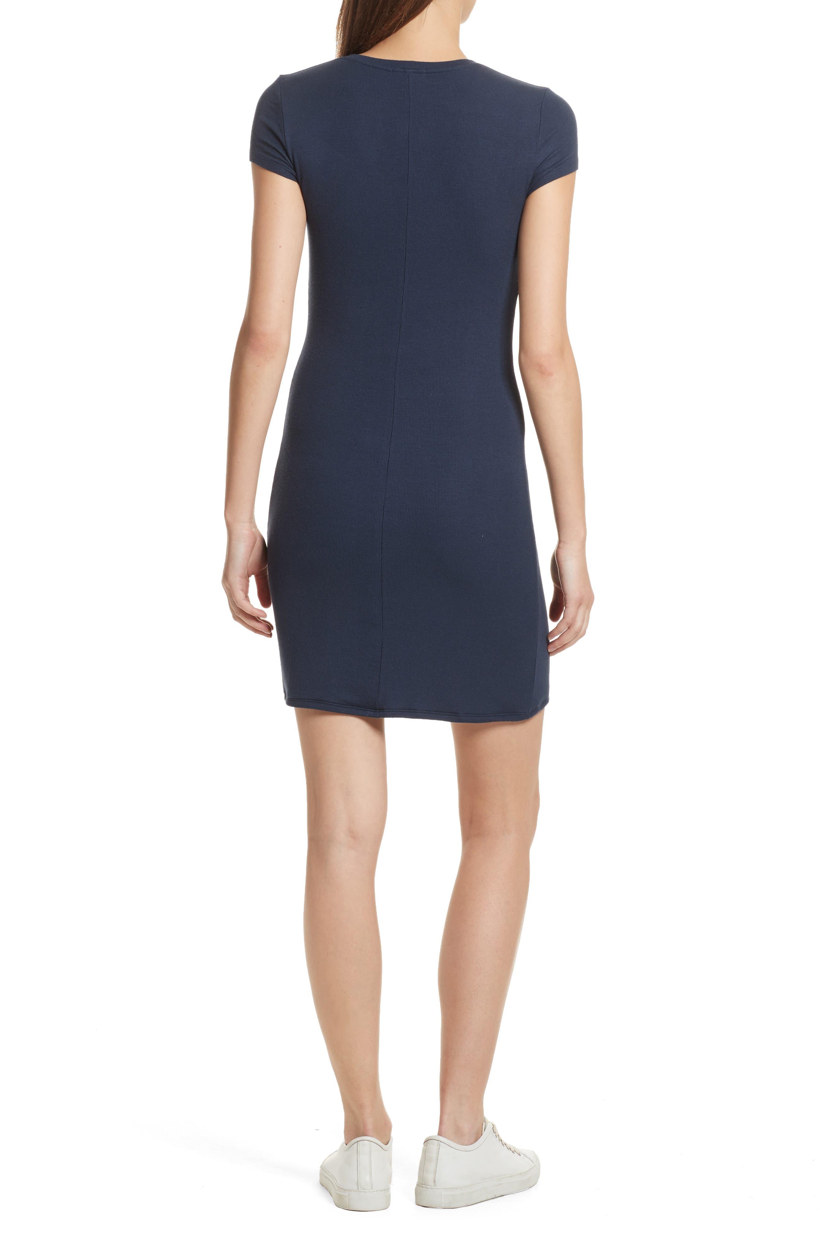 Knit Stretch Modal Dress,                             Alternate thumbnail 2, color,