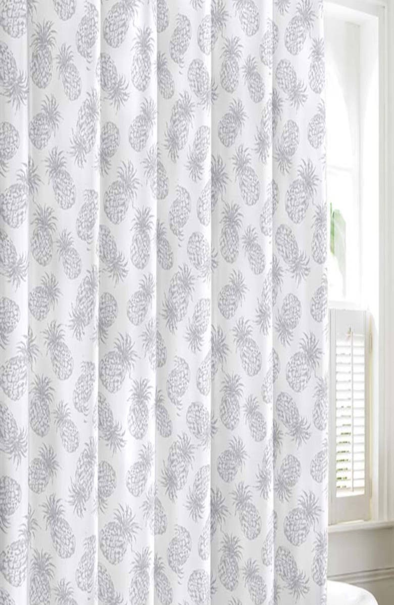 Tommy Bahama Pineapple Shower Curtain
