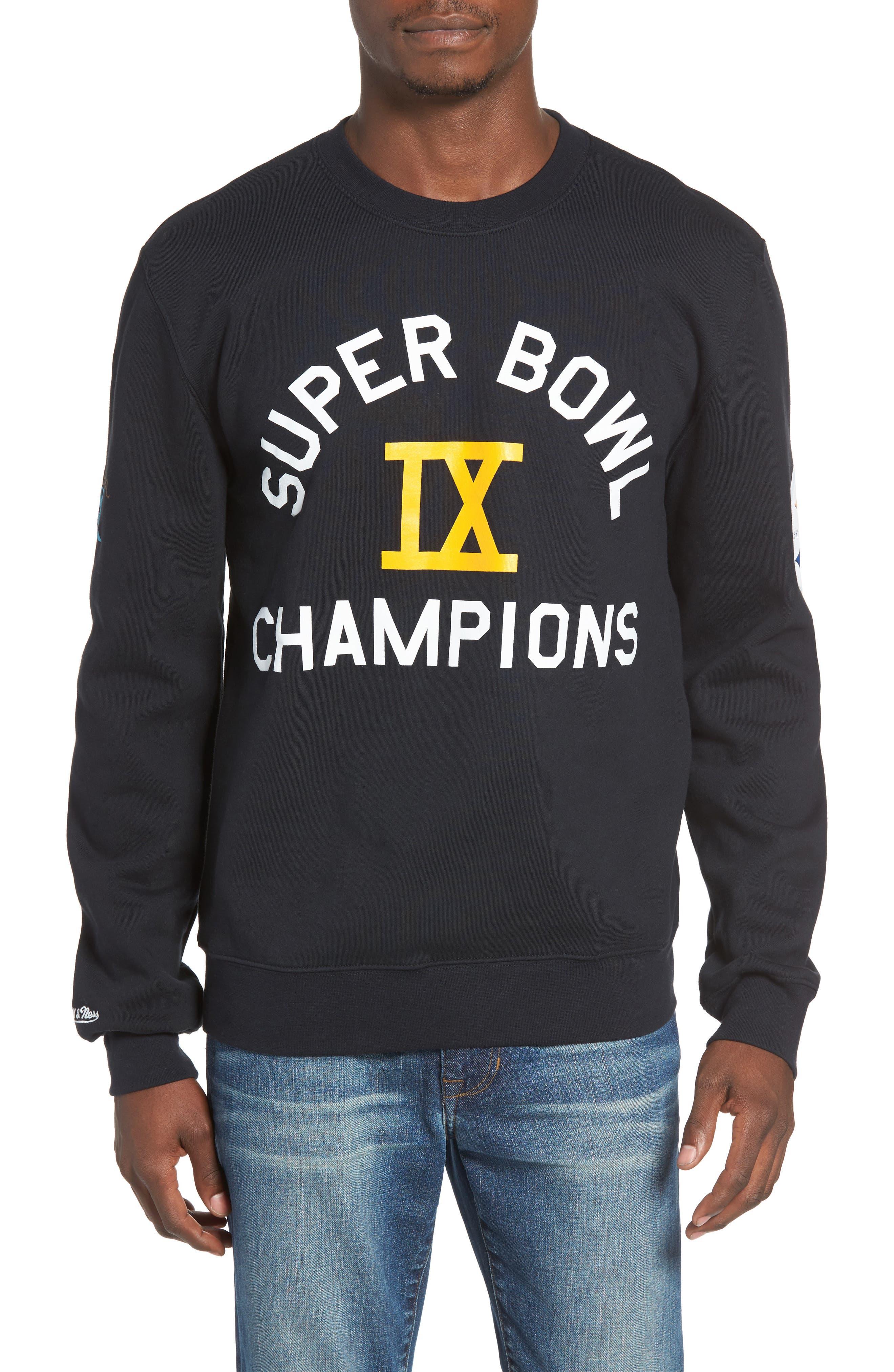 NFL Championship - Pittsburgh Steelers Sweatshirt,                             Main thumbnail 1, color,                             001