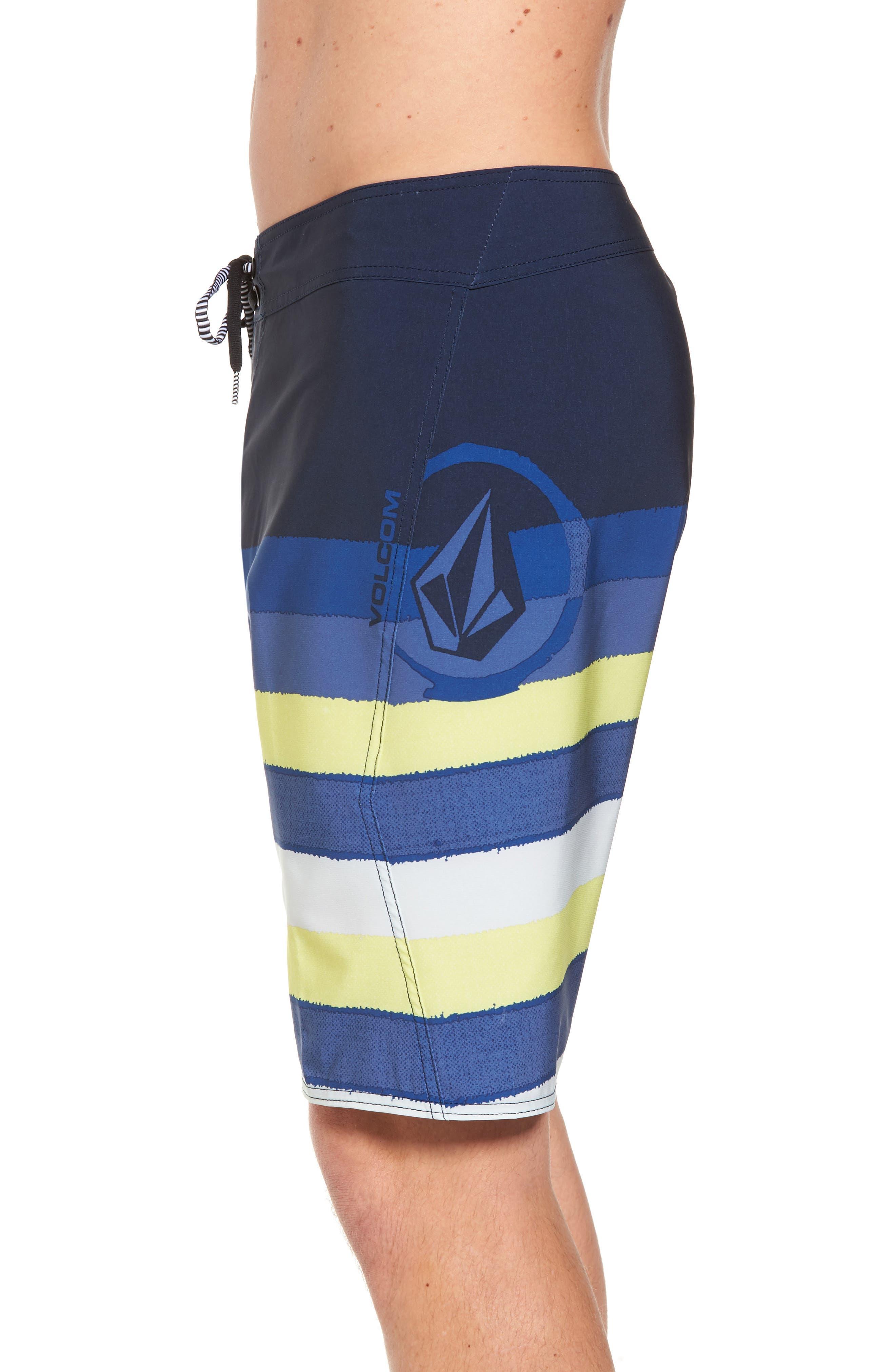 Lido Liney Mod Board Shorts,                             Alternate thumbnail 7, color,