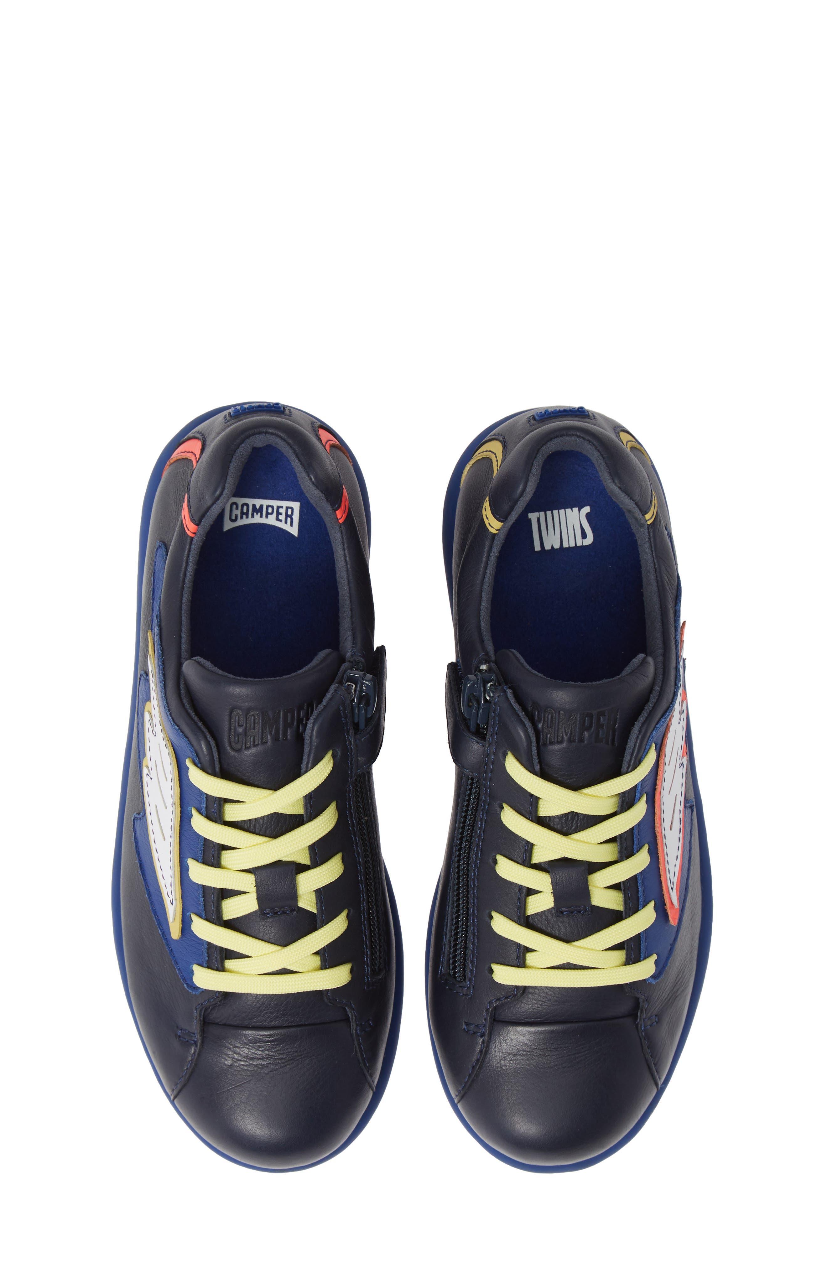 TWS Kids Sneaker,                             Main thumbnail 1, color,                             BLUE MULTI