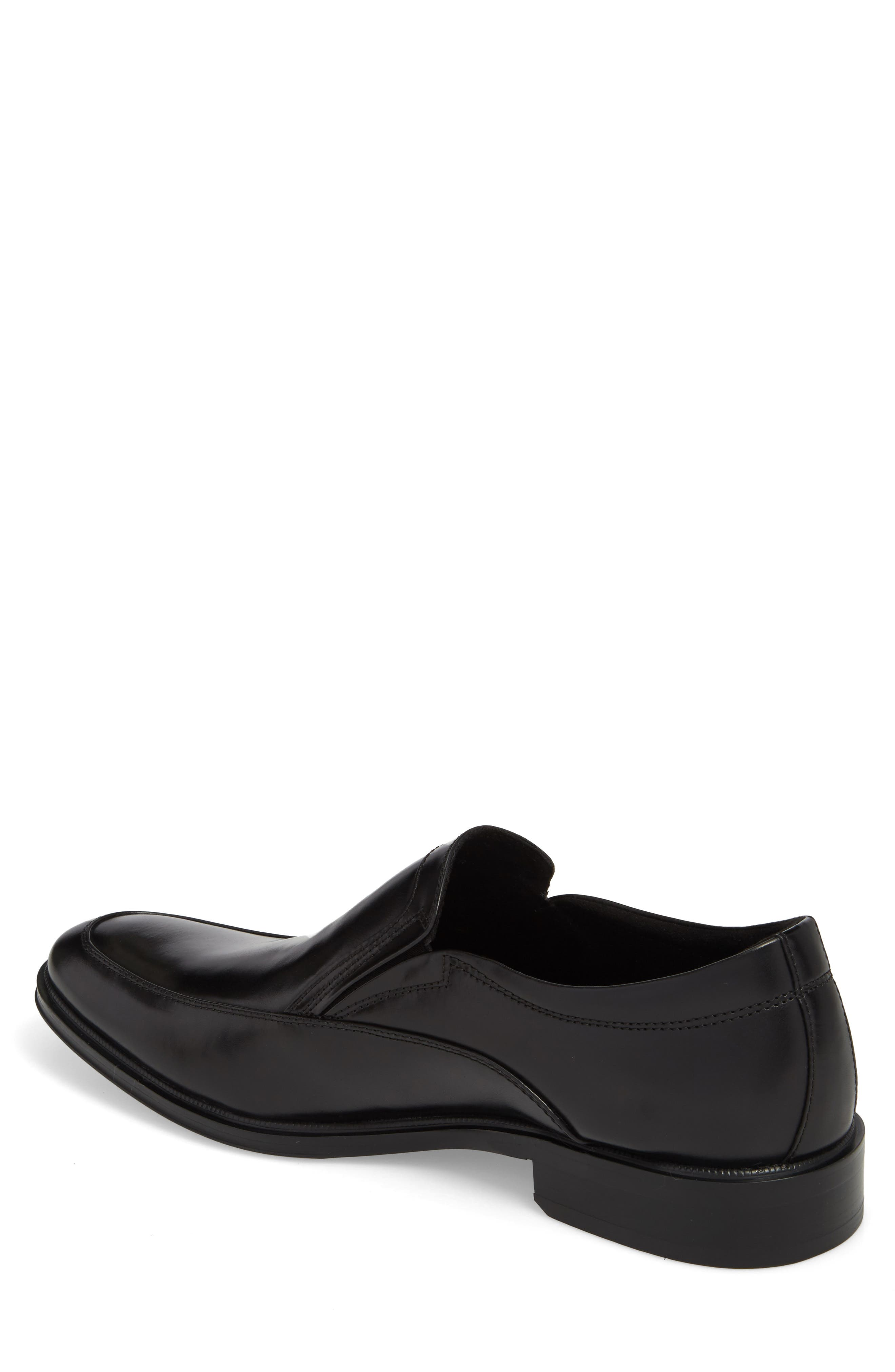 KENNETH COLE NEW YORK,                             Tully Venetian Loafer,                             Alternate thumbnail 2, color,                             BLACK LEATHER