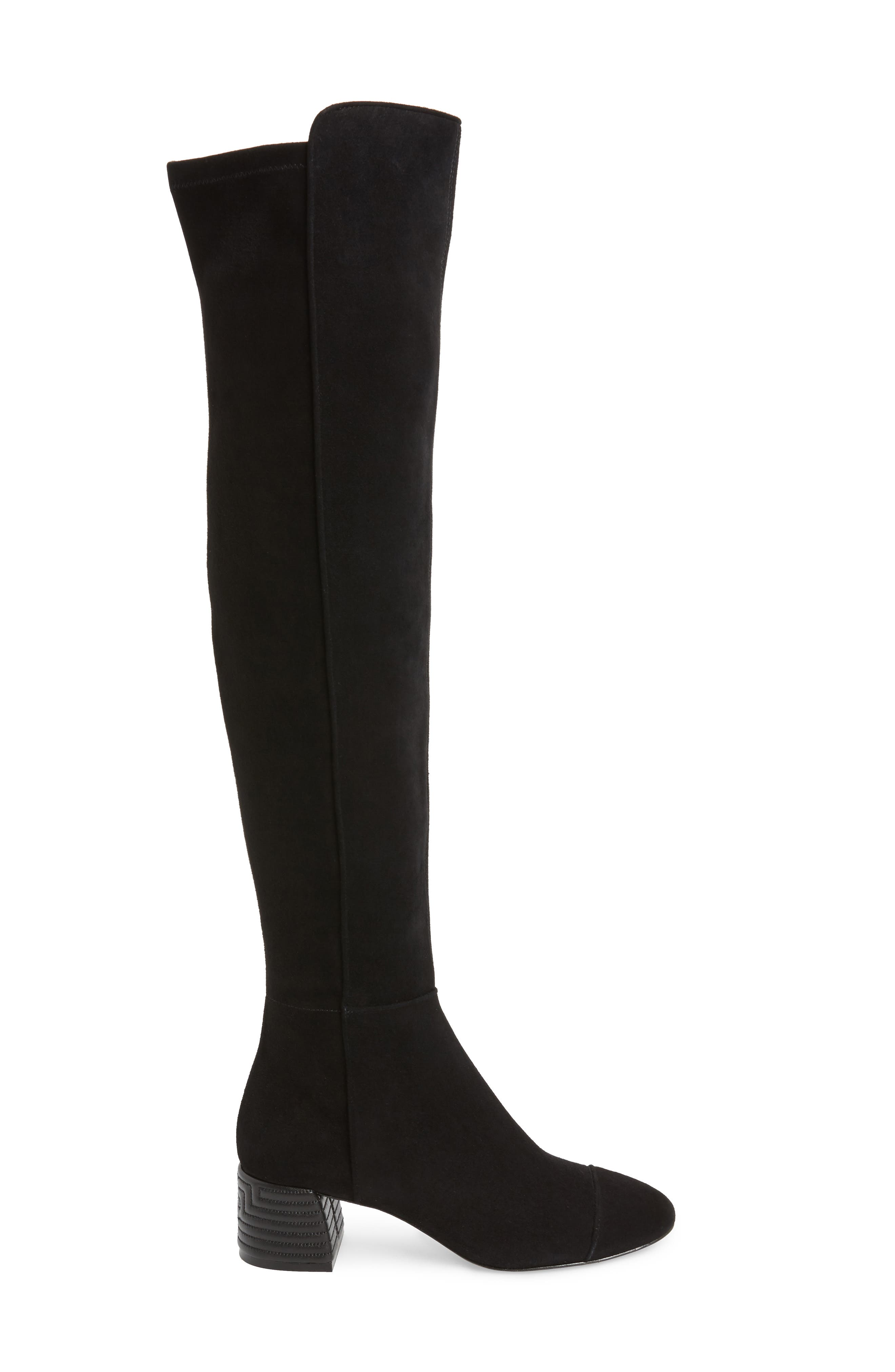 Nina Over the Knee Boot,                             Alternate thumbnail 3, color,                             006