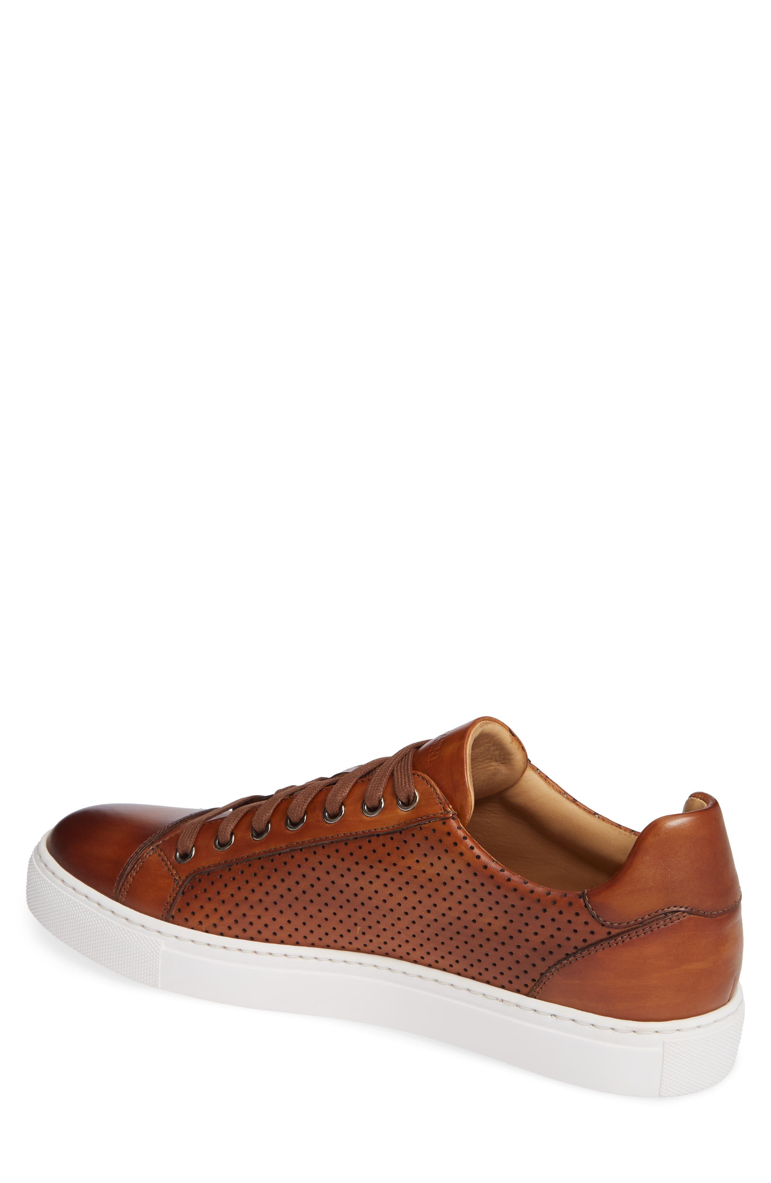 Jackson Sneaker,                             Alternate thumbnail 2, color,                             COGNAC LEATHER