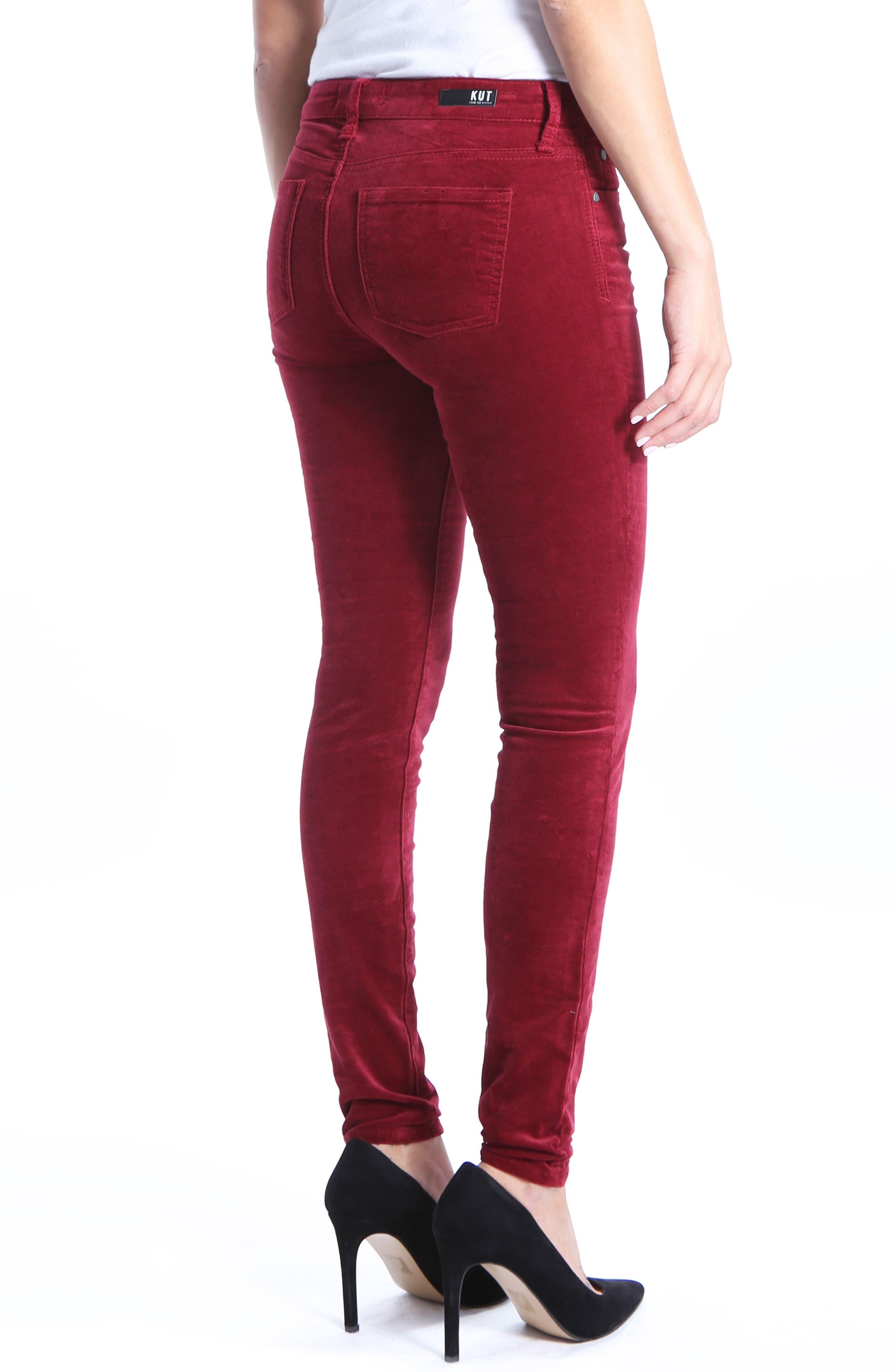 Mia Toothpick Jeans,                             Alternate thumbnail 2, color,                             603
