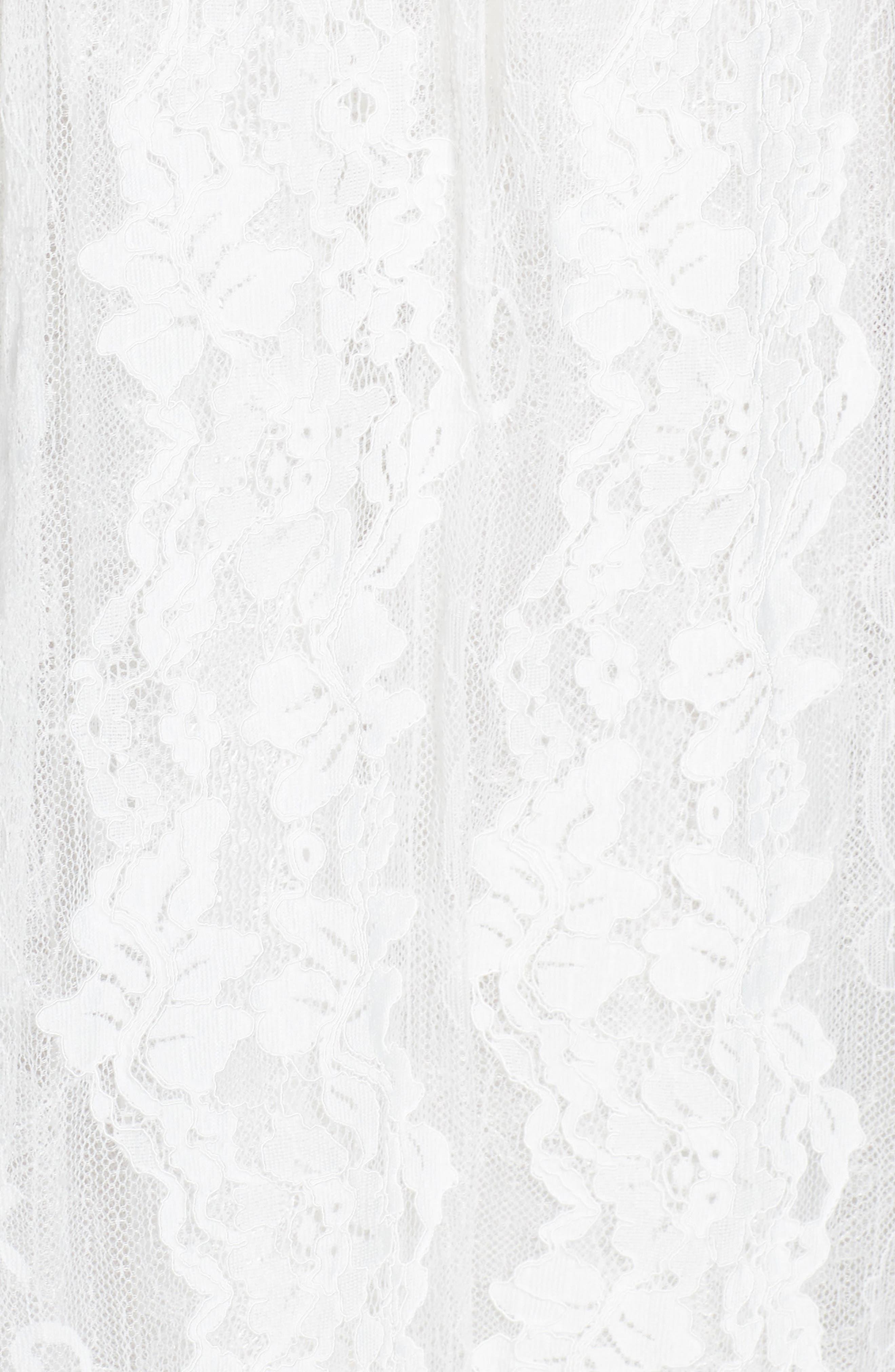 Charlie Tie Shoulder Lace Gown,                             Alternate thumbnail 6, color,