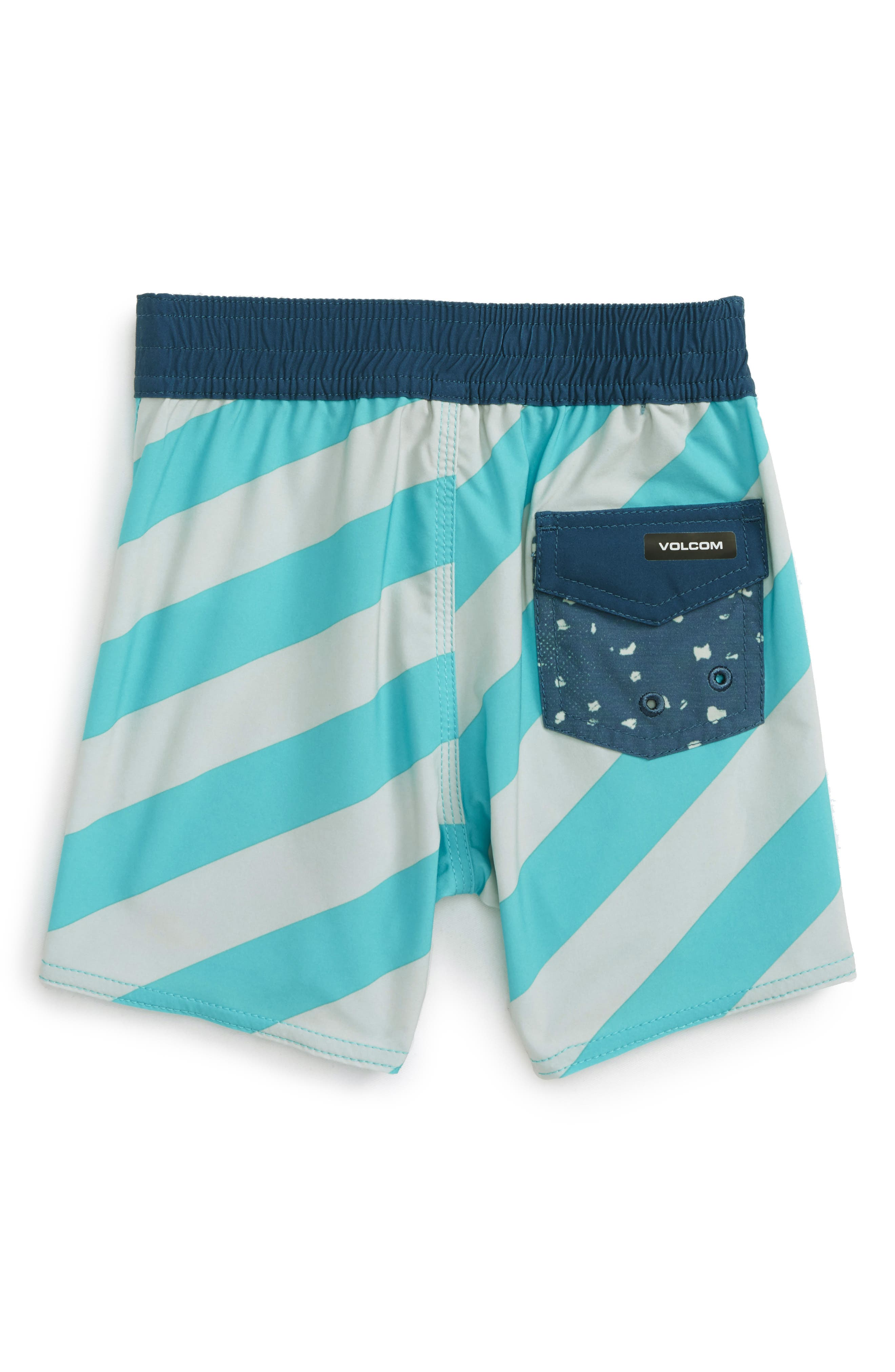 Stripey Jammer Board Shorts,                             Alternate thumbnail 2, color,                             440
